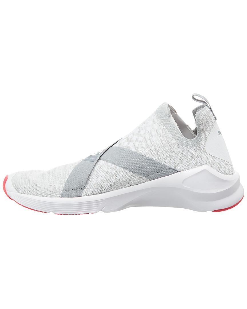 ... Lyst - Puma Women s Fierce Evo Knit Trainer in White hot product 66d8e  15e52 ... 0926219fc