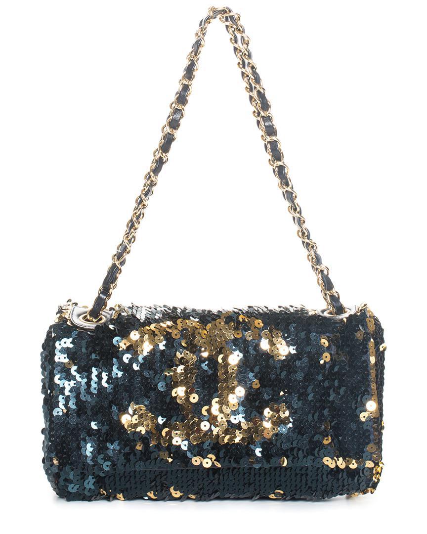 40099a8762ce7c Chanel. Women's Multicolor Sequins Shoulder Bag