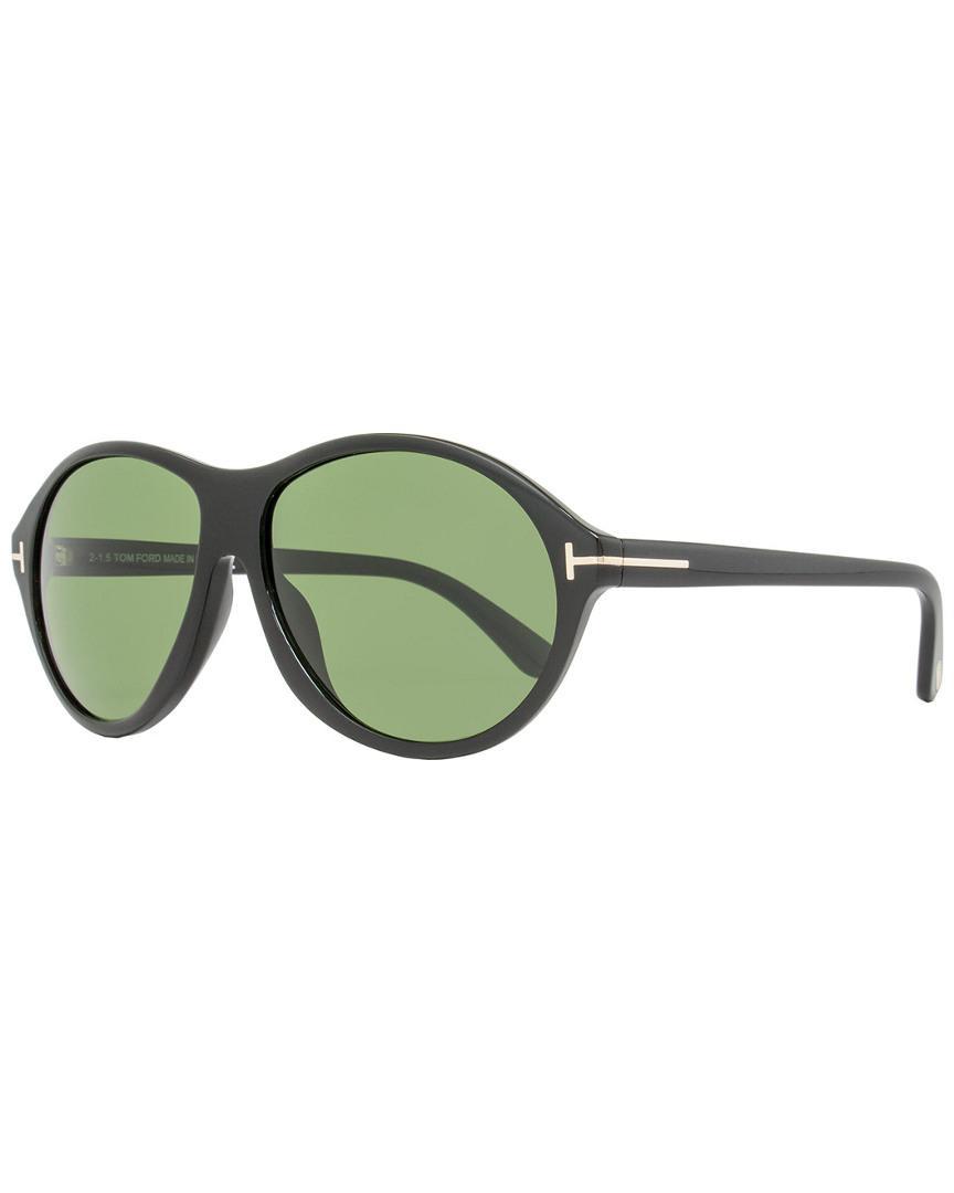 87f32f1ff32 Tom Ford Men s Tf398 Tyler 60mm Sunglasses in Green for Men - Lyst
