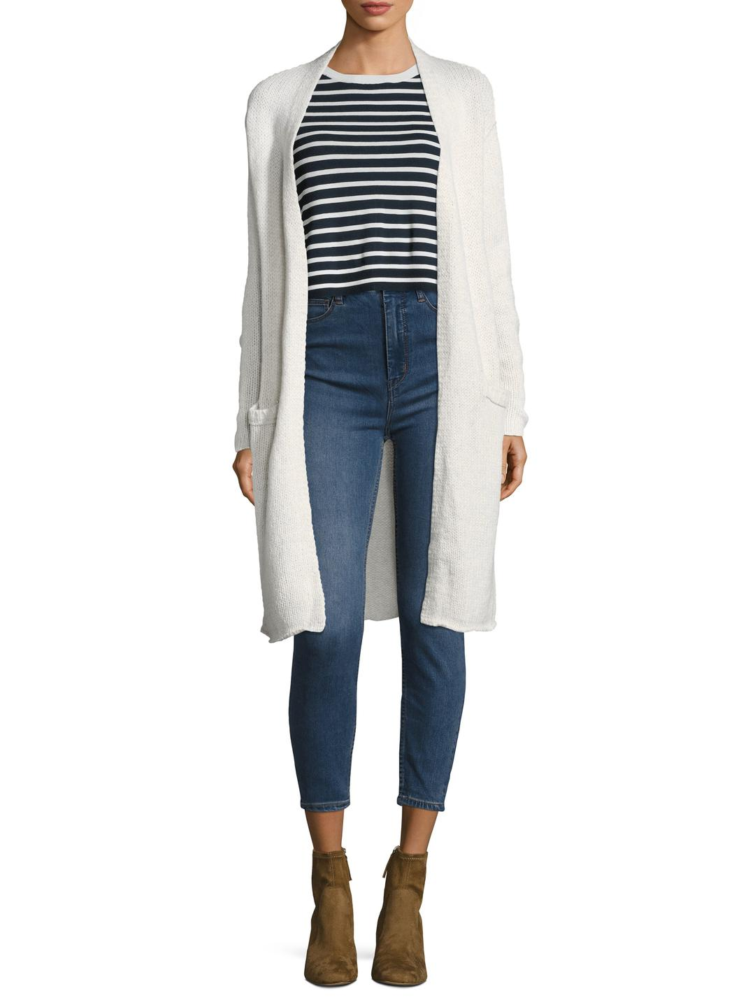 Velvet by graham & spencer Wool-blend Duster Cardigan | Lyst