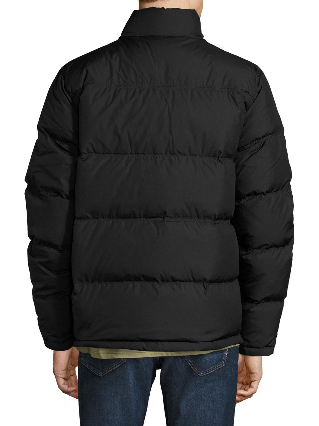 Timberland black quilted jacket