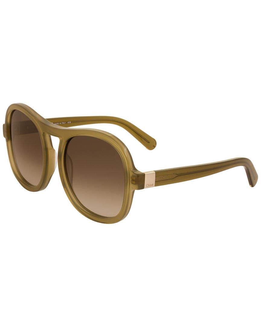 eb5b3840607 Chloé Women s Ce720s 56mm Sunglasses - Lyst