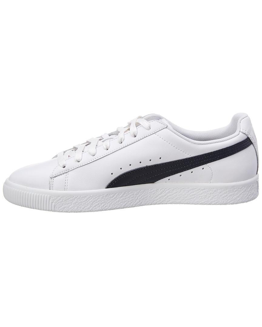 Lyst - Puma Clyde Core L Foil Sneaker in White for Men daa0458ca