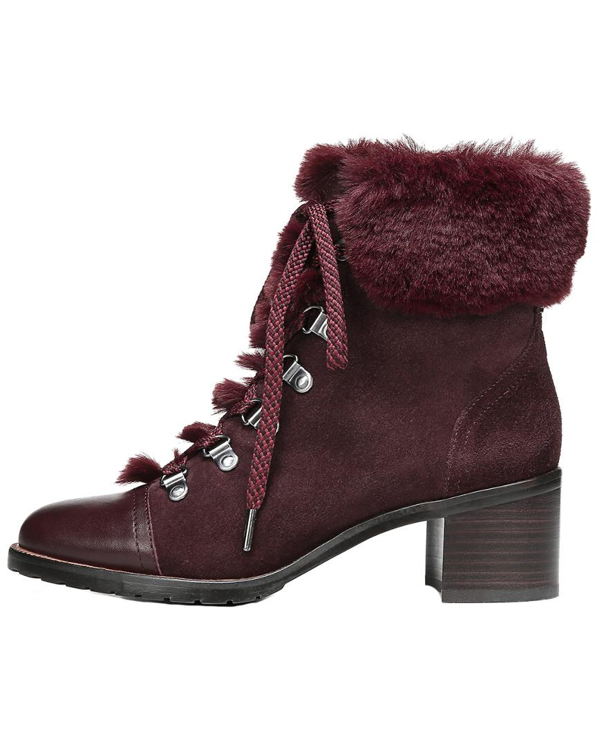 e272a48158ed4d Sam Edelman Manchester Boot in Purple - Lyst