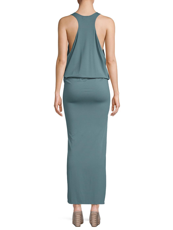 a586ef09fb Mikoh Swimwear Apparel - Mavericks - High Neck Maxi Dress With High ...