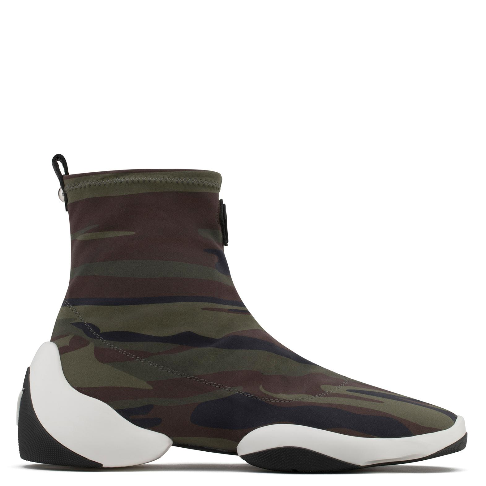 Giuseppe Zanotti Neoprene high-top sneaker LIGHT JUMP HT1 ELcwjzdm
