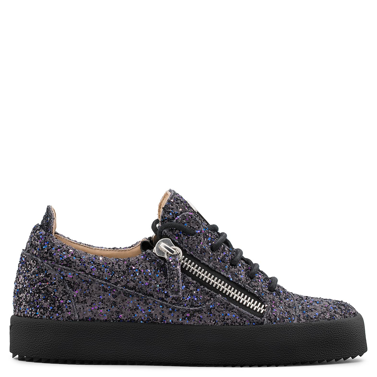 Giuseppe Zanotti Multicolour printed fabric low-top sneaker GAIL wvXZLket6