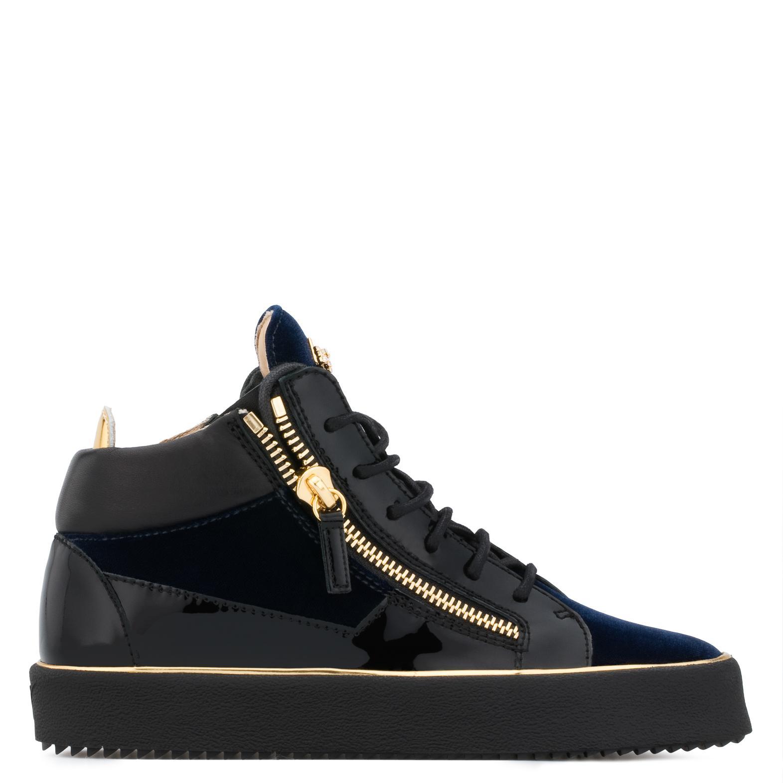 Glynn low top sneakers - Blue Giuseppe Zanotti 3Qkmnenx