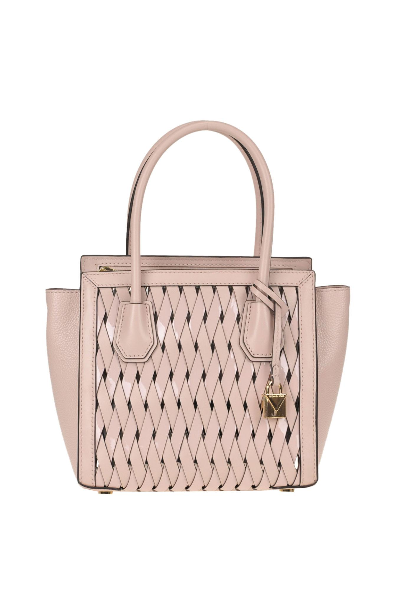09ad7c26fec1 Lyst - MICHAEL Michael Kors  mercer Studio Md  Bag in Pink