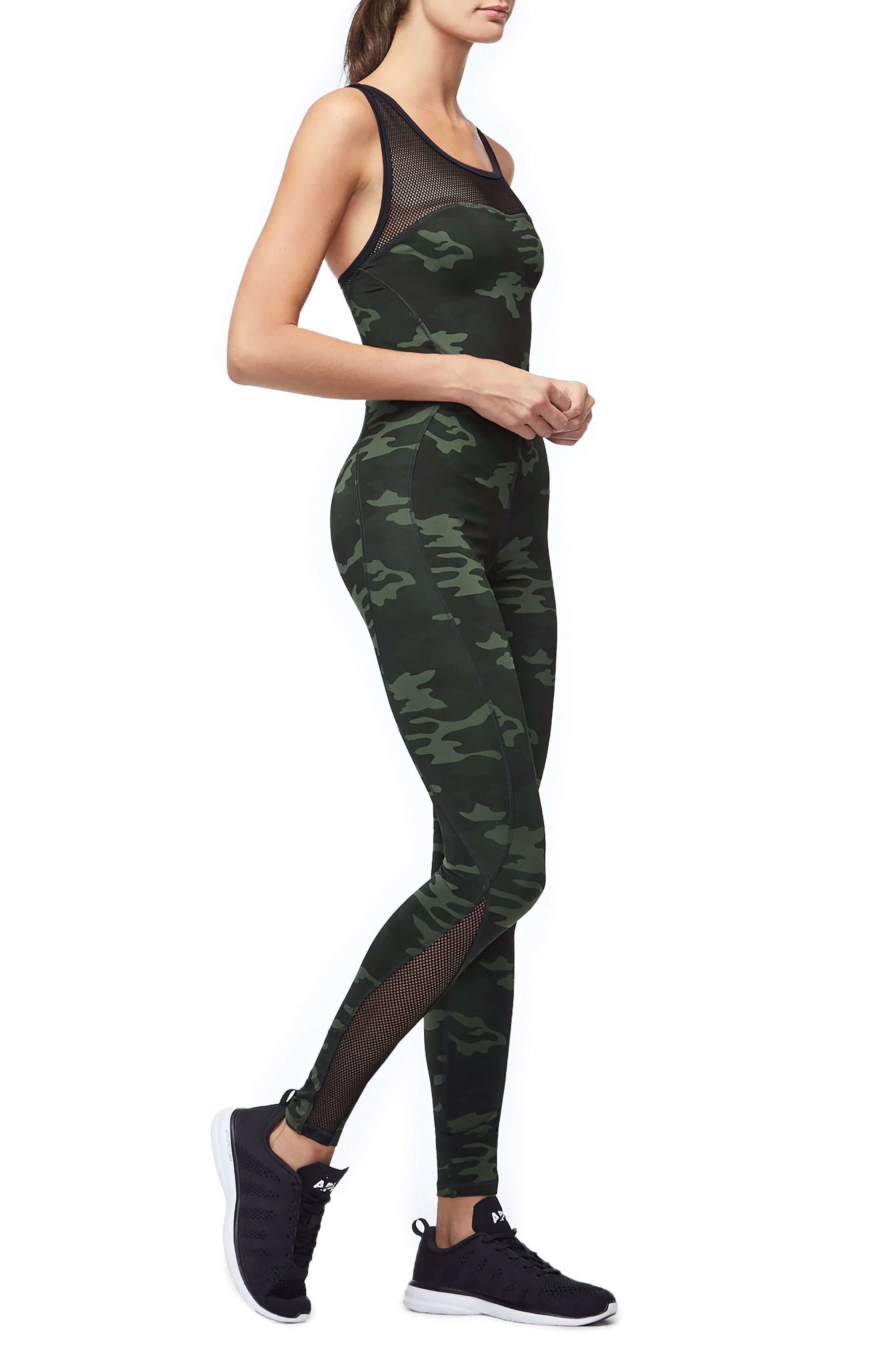 3a00d6d396d1 GOOD AMERICAN - Green The Curve Sculpt Jumpsuit - Lyst. View fullscreen