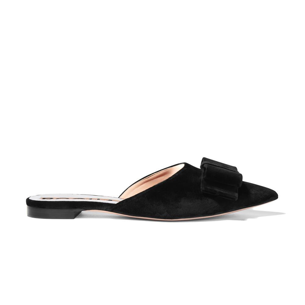 embellished slip-on mules - Black Rochas tx02Ii4G