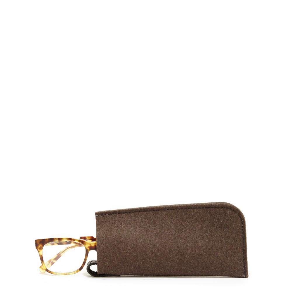 Graf & lantz Eyeglass Sleeve Felt in Brown (Tobacco) Lyst