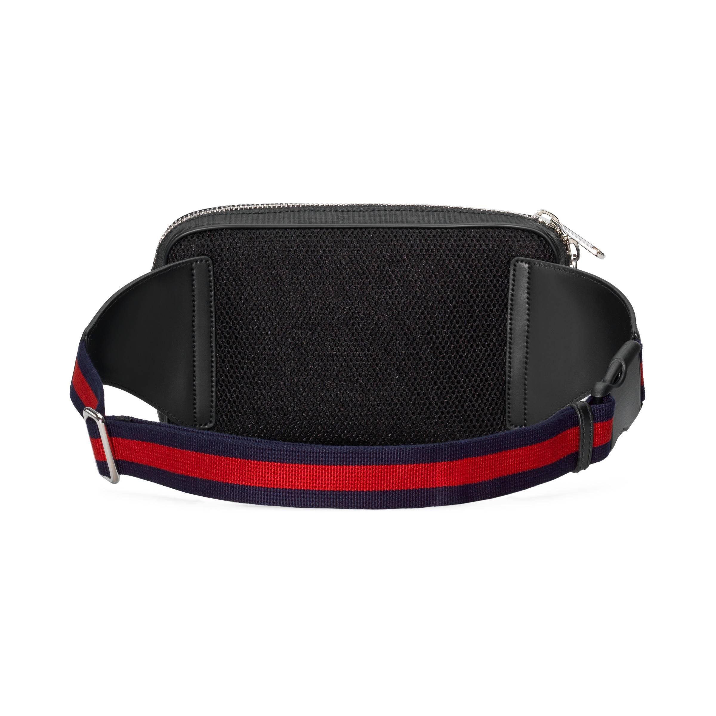 fbdef5e9007 Gucci - Black Sac ceinture Suprême GG souple avec motif Night Courrier for  Men - Lyst. Afficher en plein écran