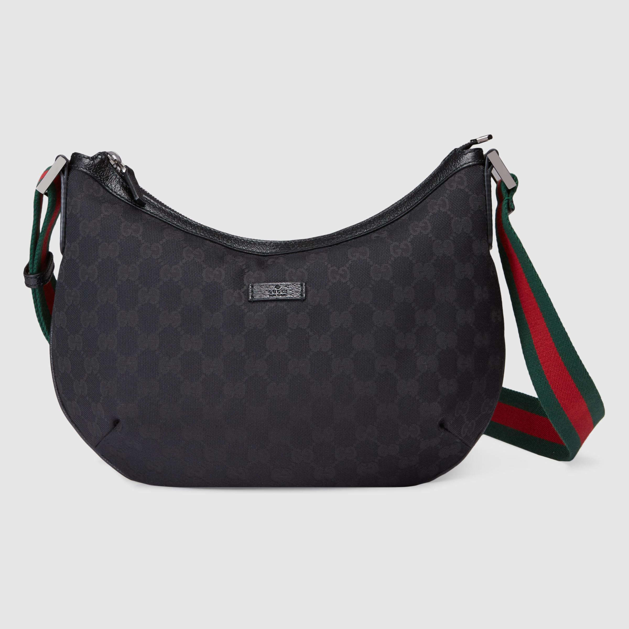 a85a5499978 Gucci Original Gg Canvas Messenger Bag in Green for Men - Lyst