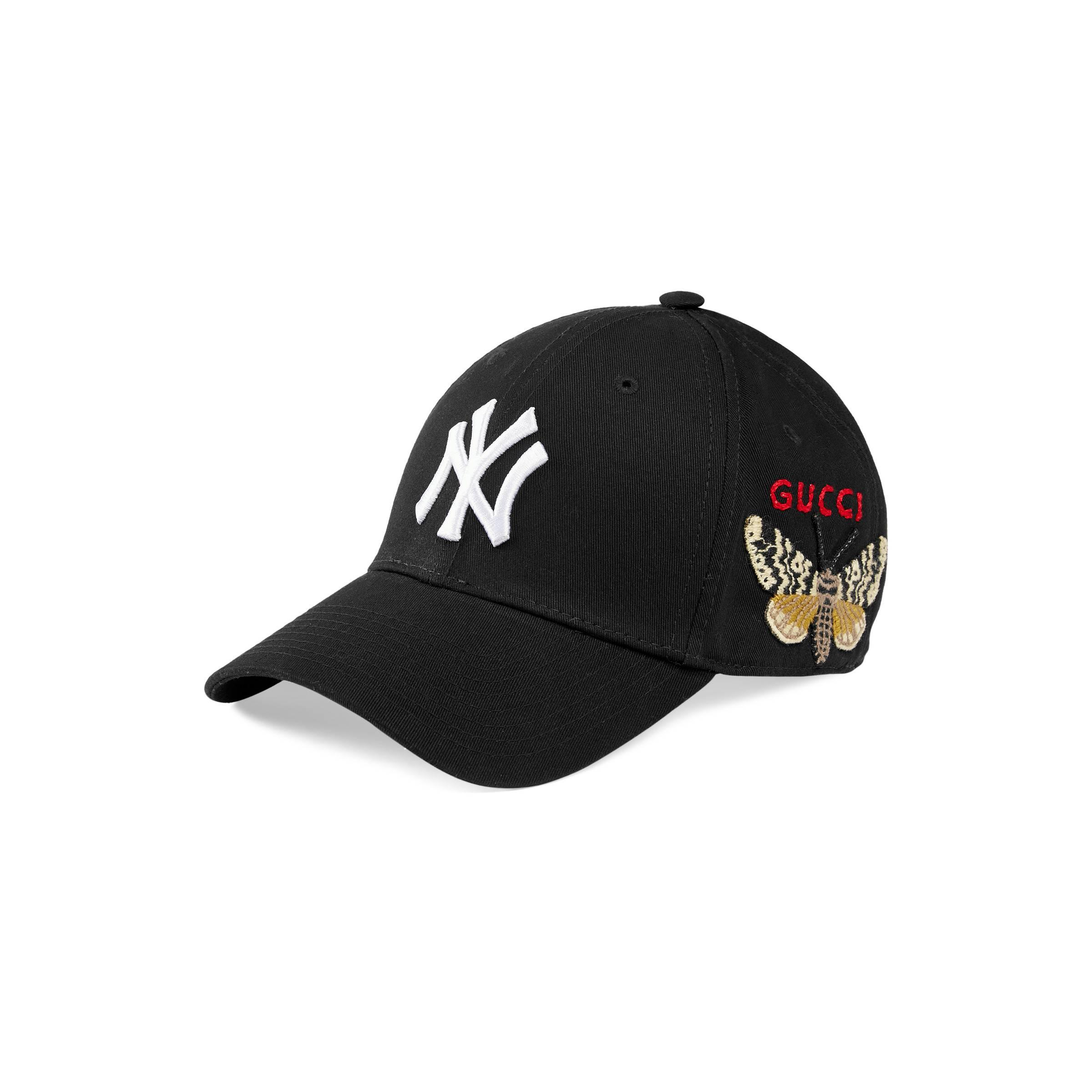 74784fcc7b38c Gucci - Black Gorra de Béisbol New York YankeesTM for Men - Lyst. Ver en  pantalla completa