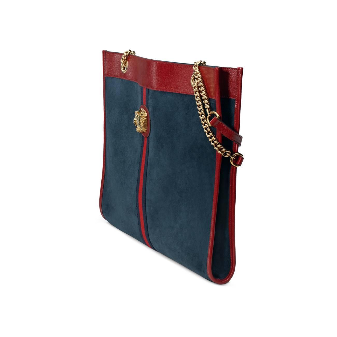 d4d43e25118 Gucci - Blue Rajah Large Tote - Lyst. View fullscreen