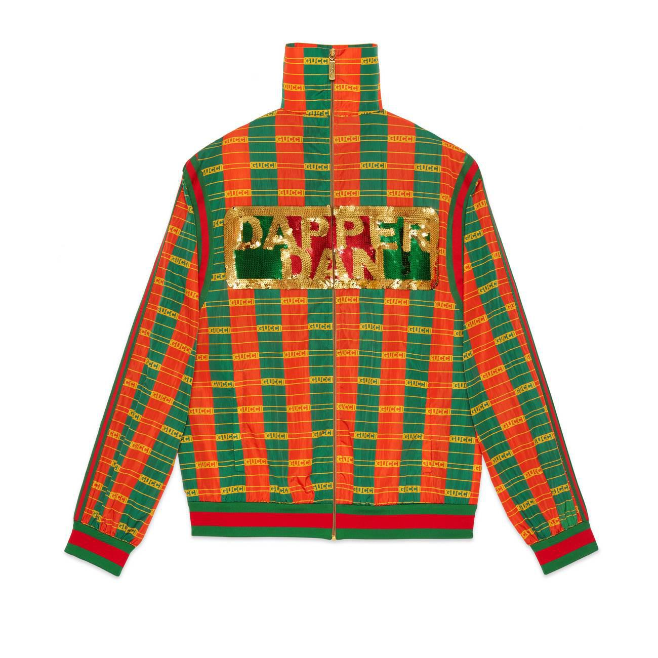 05ccd7f6bad Gucci -dapper Dan Jacket in Green - Lyst