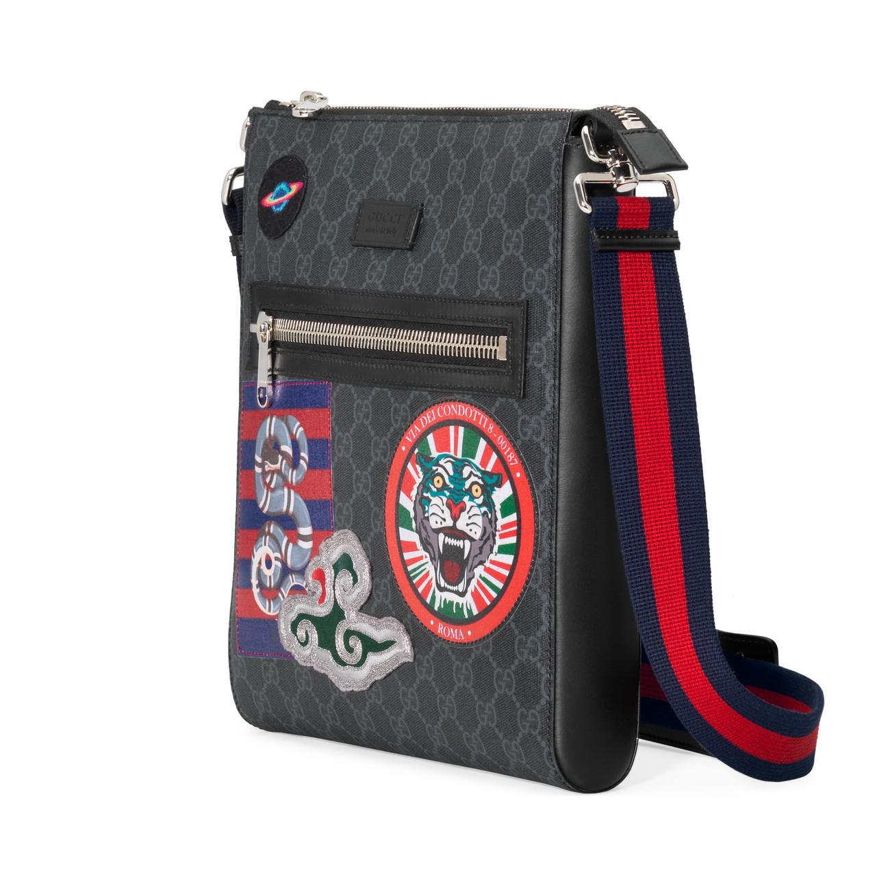 9bf05ff8b75c Gucci - Multicolor Night Courrier GG Supreme Messenger for Men - Lyst. View  fullscreen