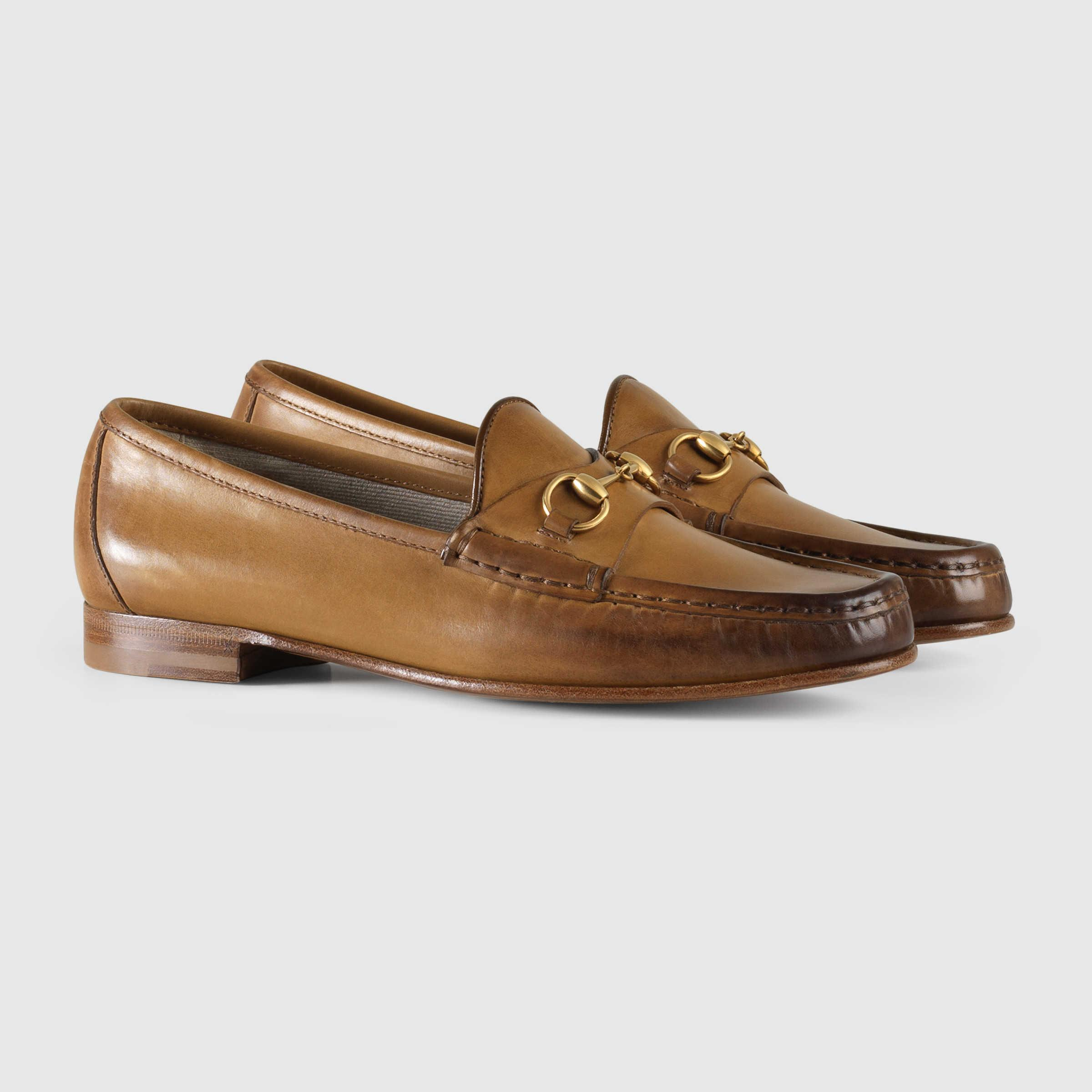 b912cd5cfd6 Lyst - Gucci 1953 Horsebit Loafer In Leather in Brown