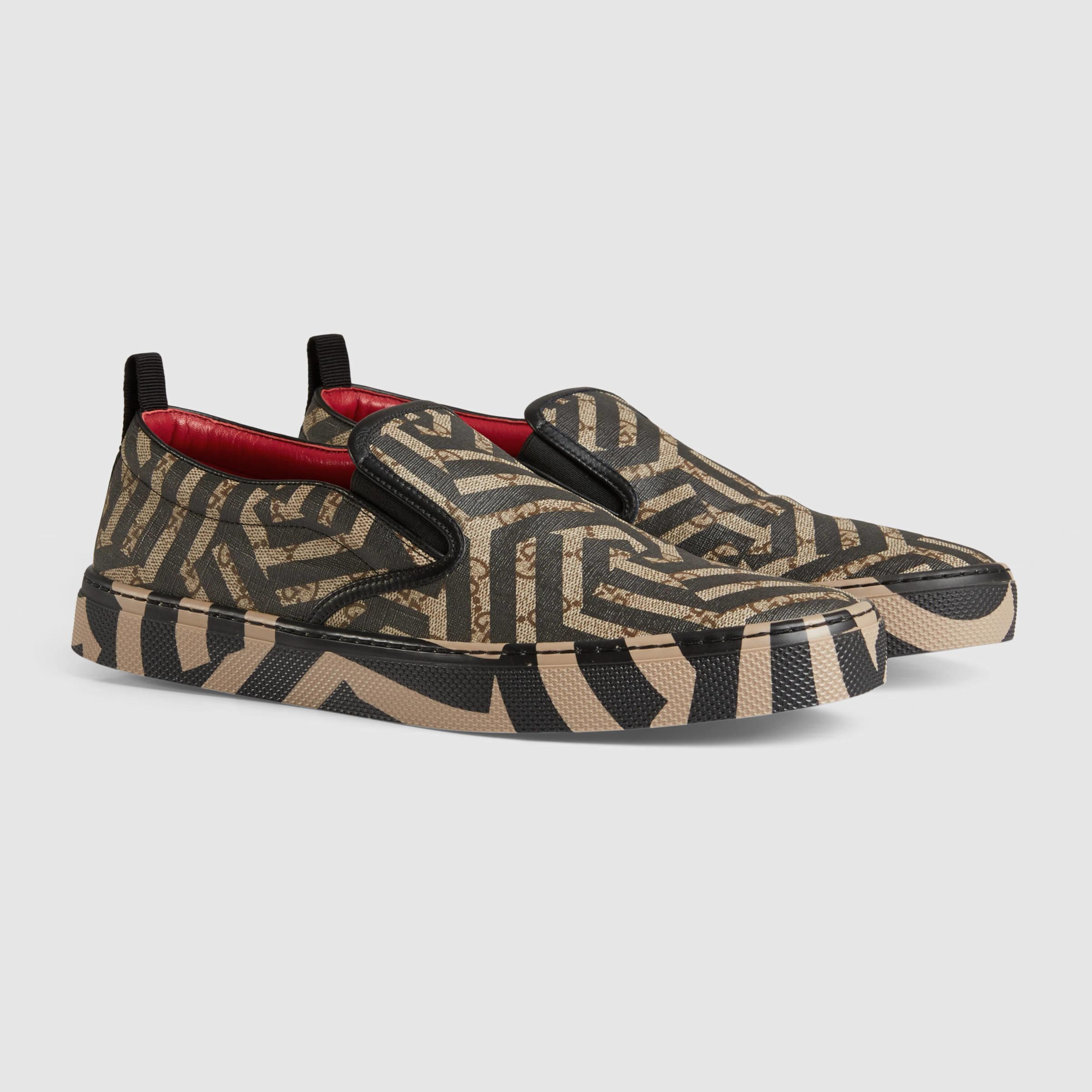 0bdcf3ddd Gucci Gg Caleido Sneaker for Men - Lyst