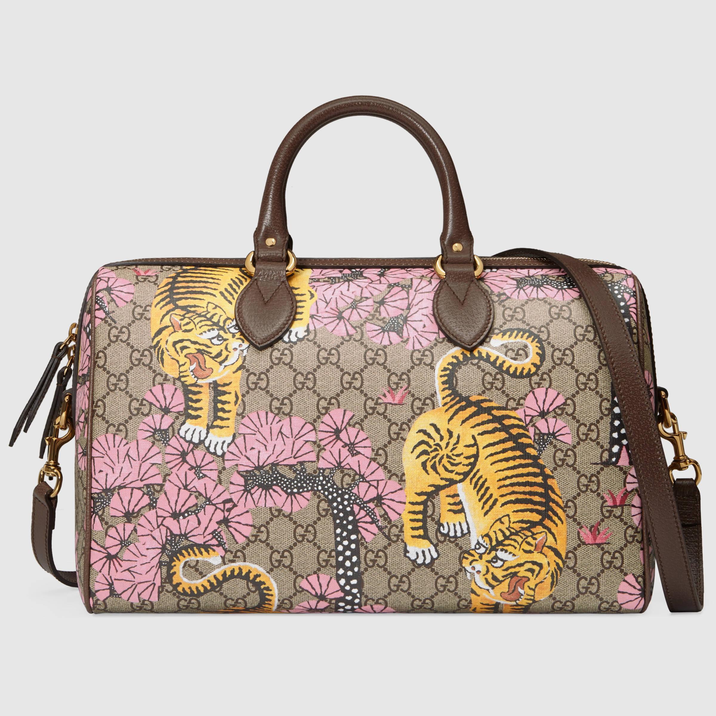 0a5740b7d30 Lyst - Gucci Bengal Top Handle Bag