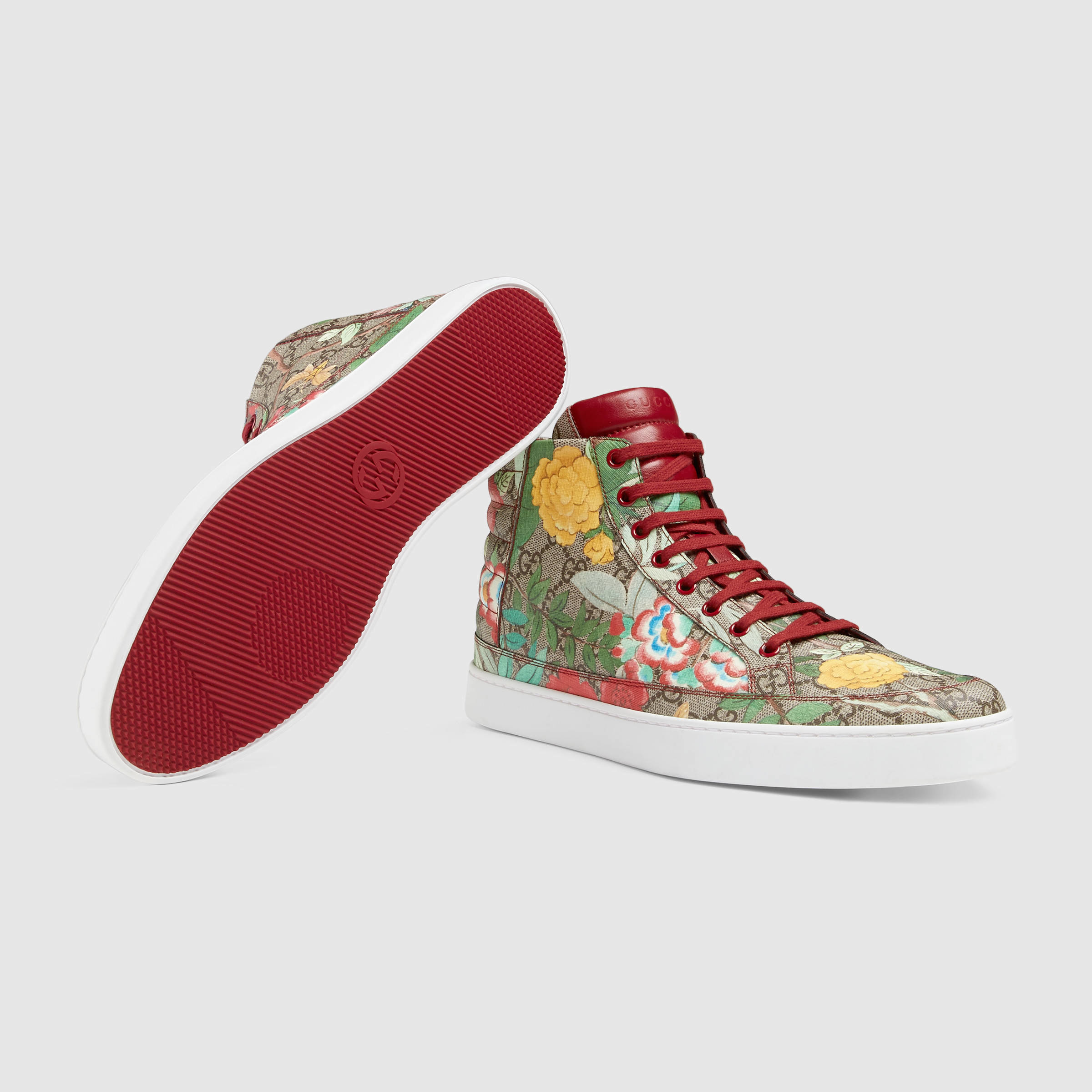 7d691059467 Lyst - Gucci Men s Tian High-top Sneaker for Men