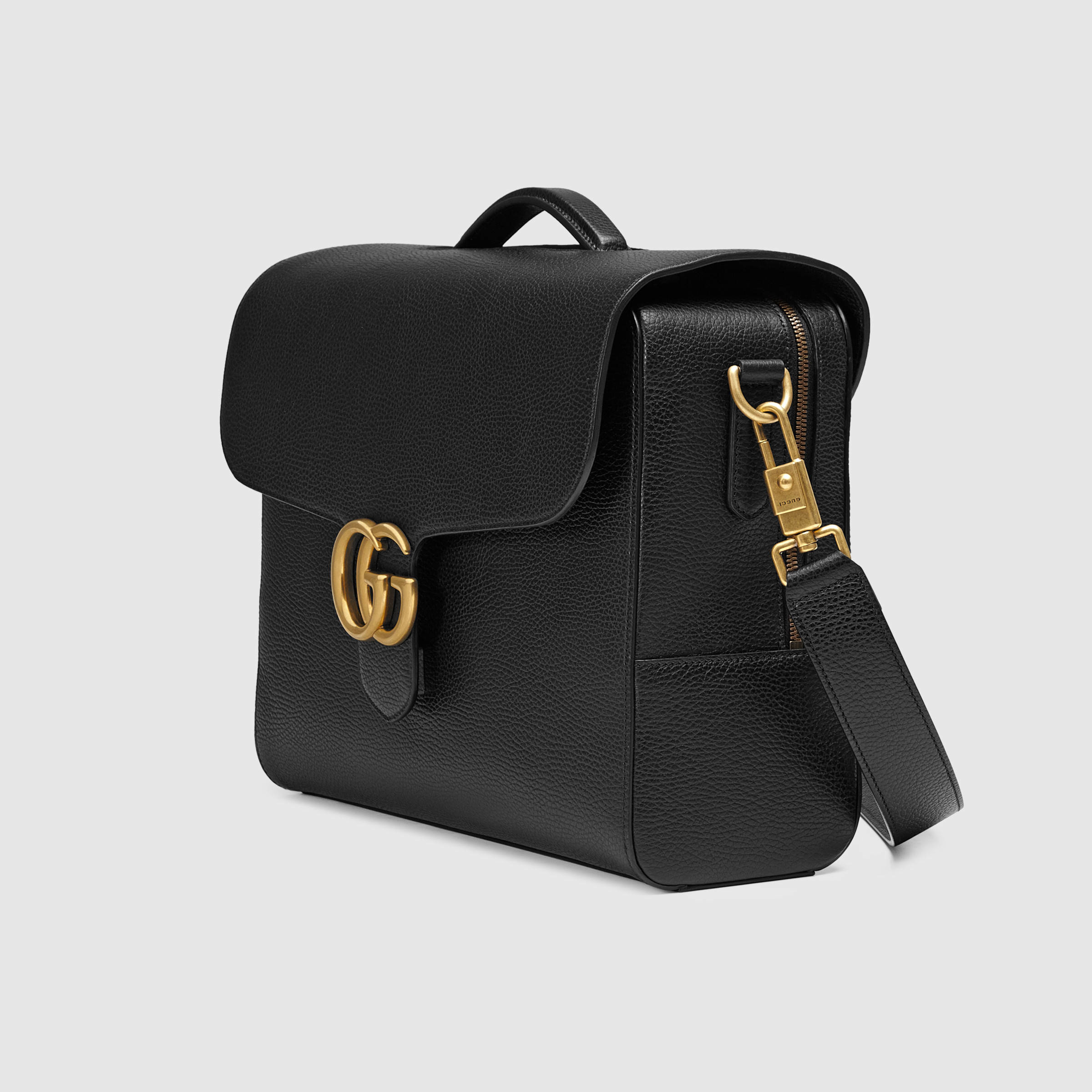 f890581d8e92 Gucci Gg Marmont Leather Briefcase for Men - Lyst