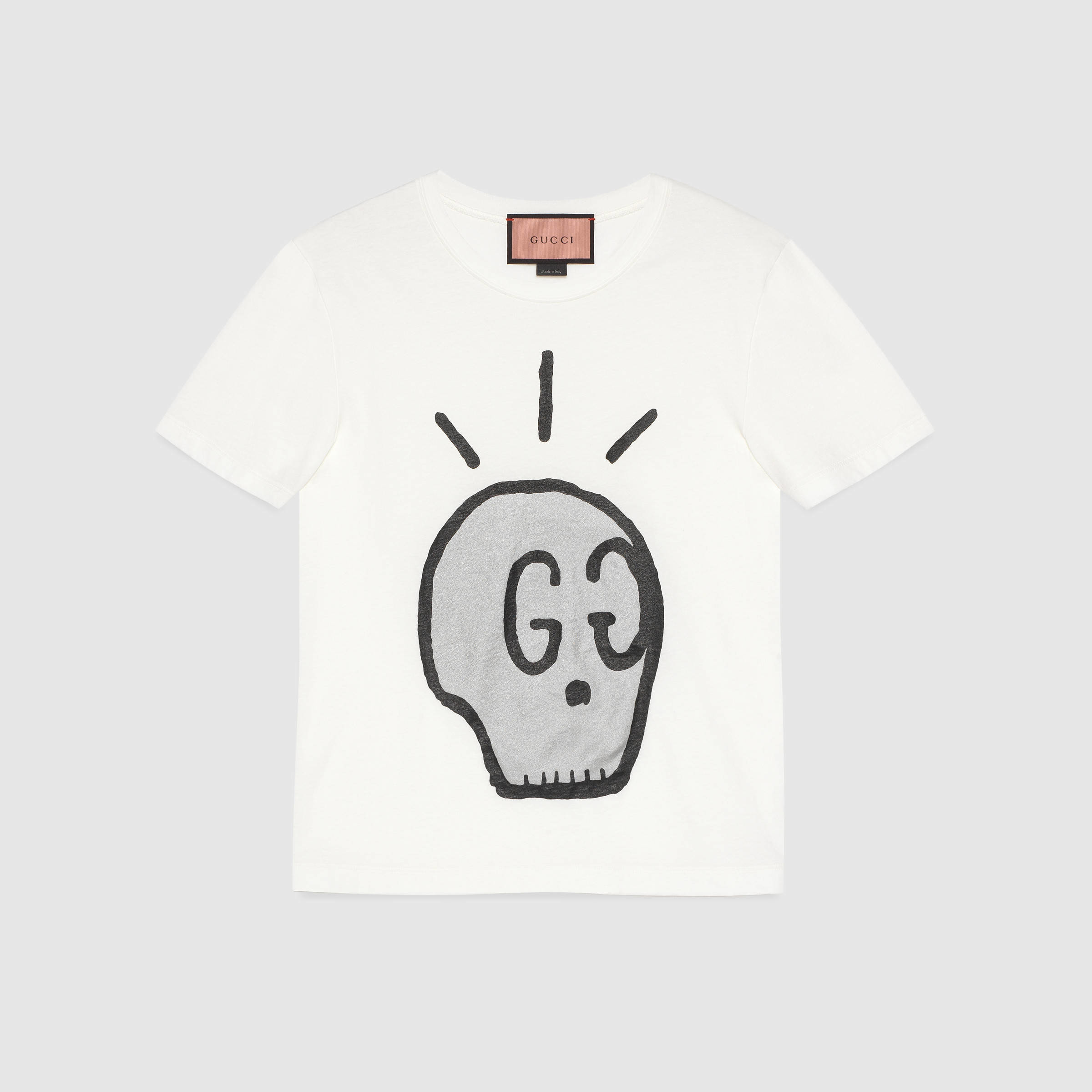 01b85fb1f8b8 Gucci Ghost T-shirt for Men - Lyst