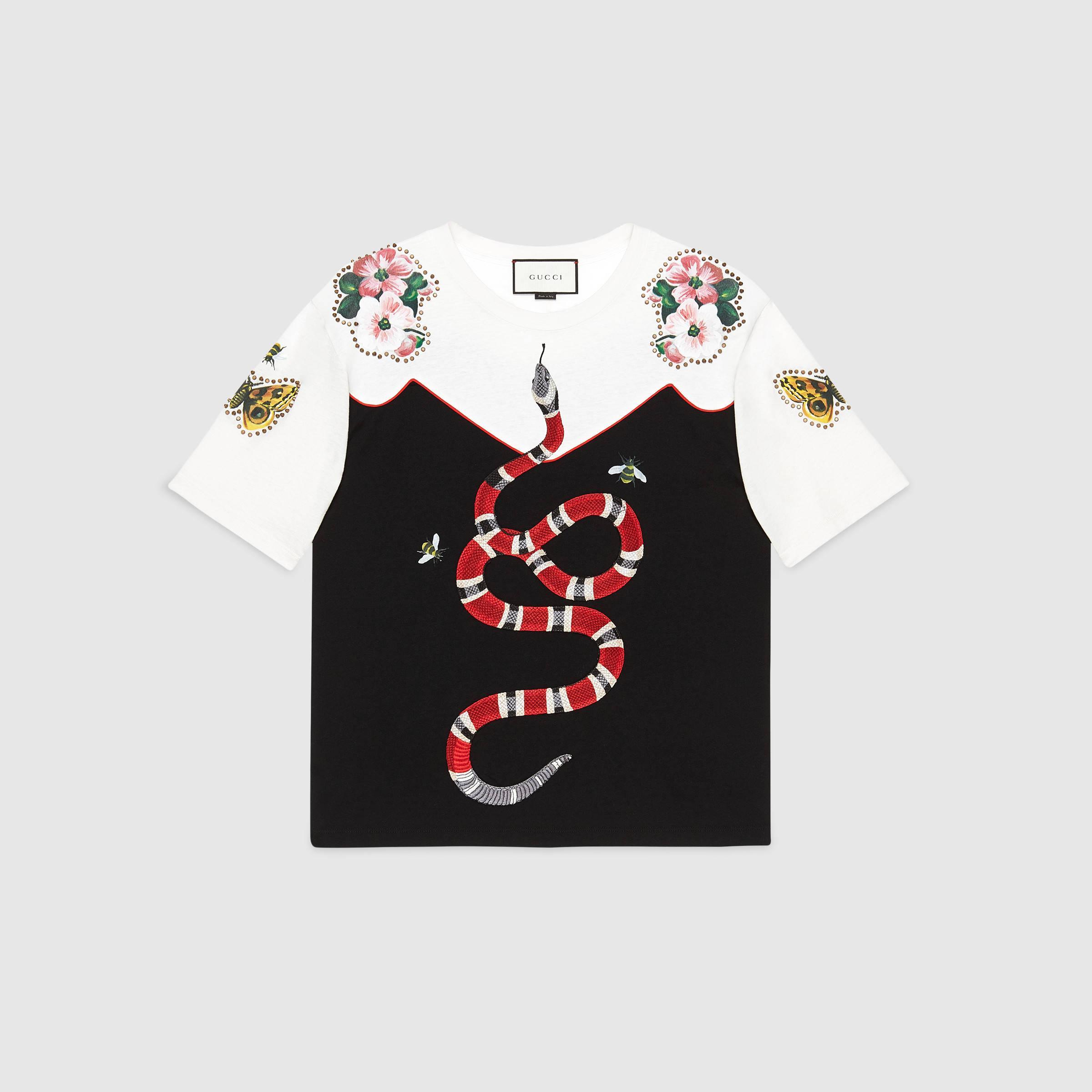 c68aebcde38e Gucci Garden Exclusive T-shirt - Lyst