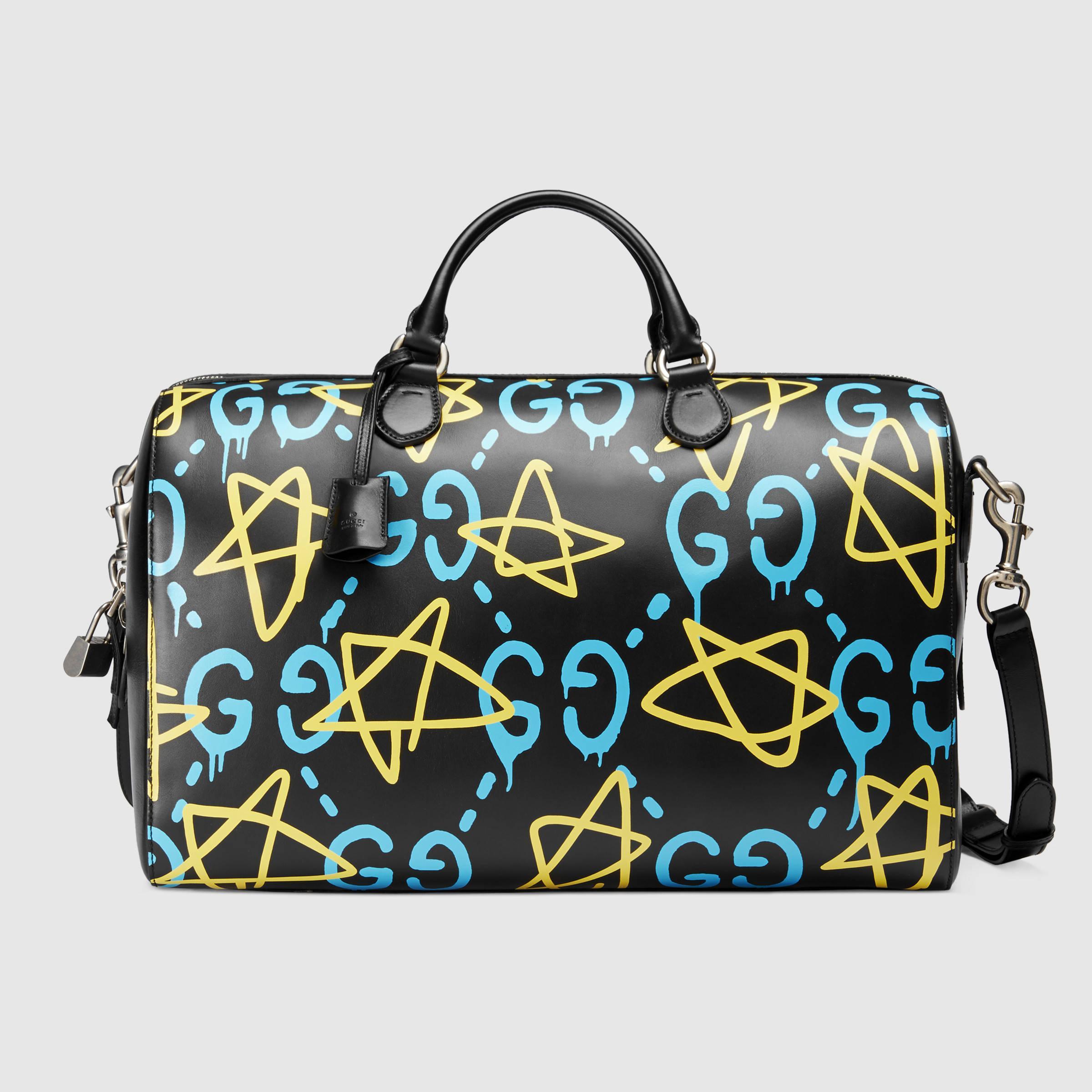 Lyst - Gucci Ghost Duffle 1899424f500