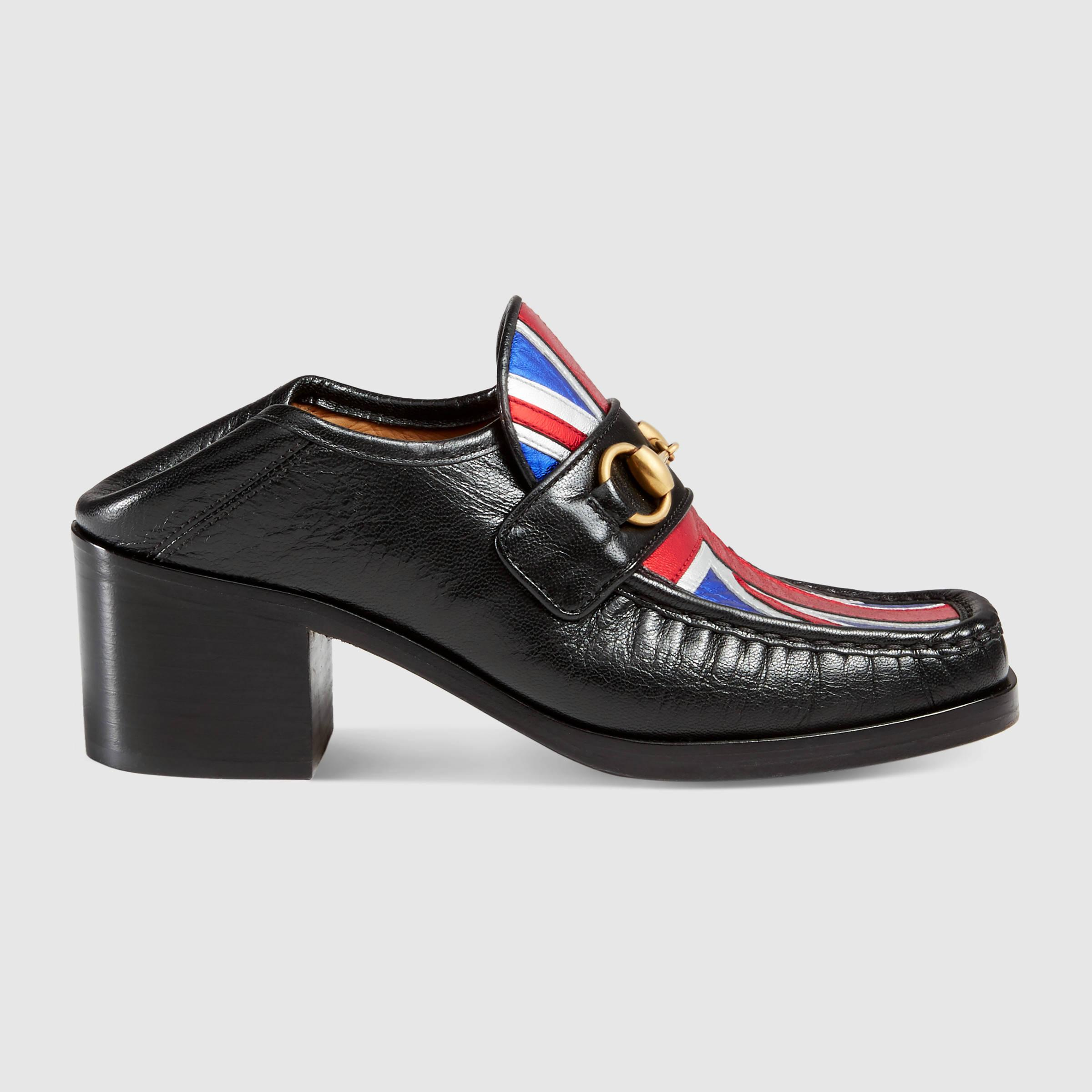 Lyst Gucci Union Jack Horsebit Loafer