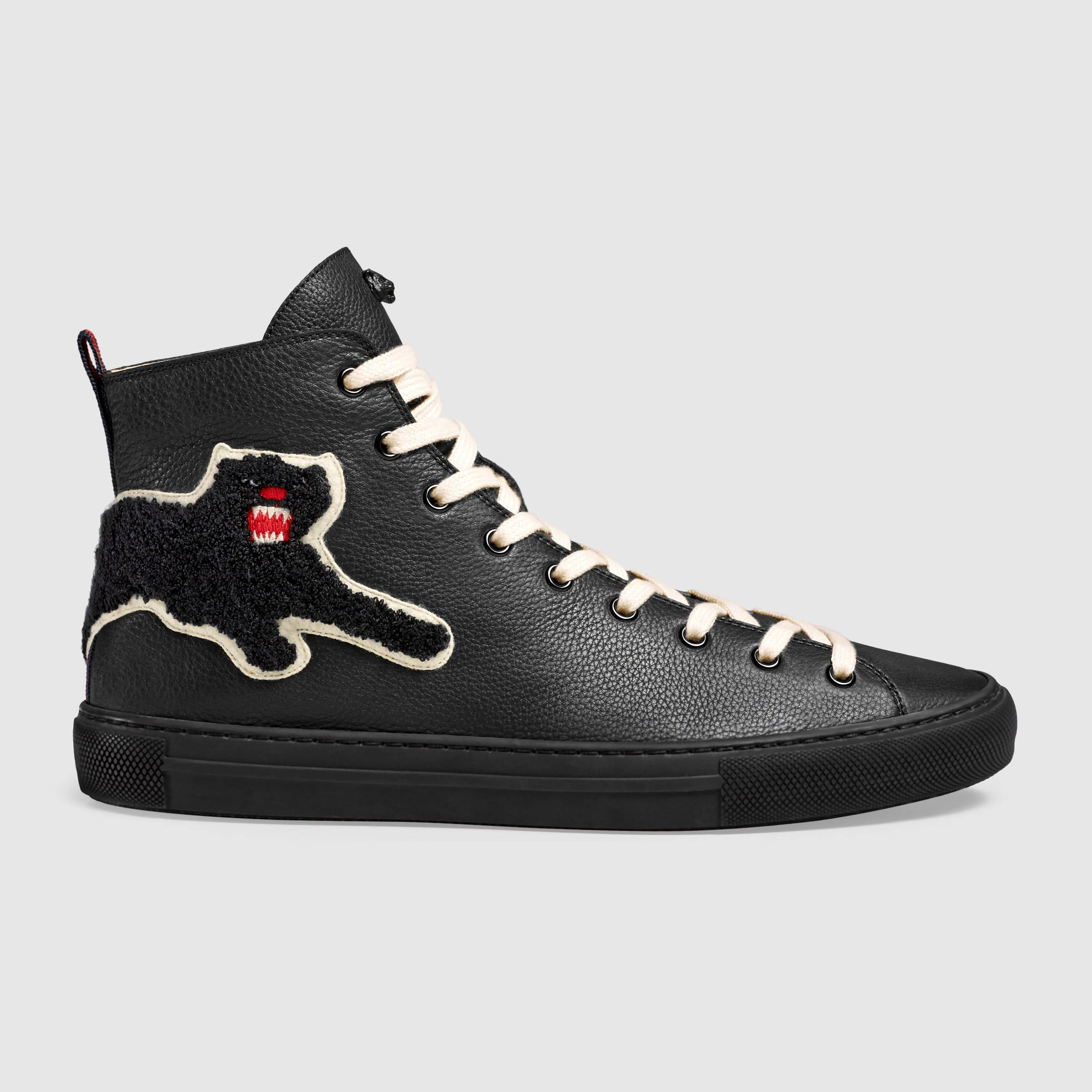 Leather Panther Shoes