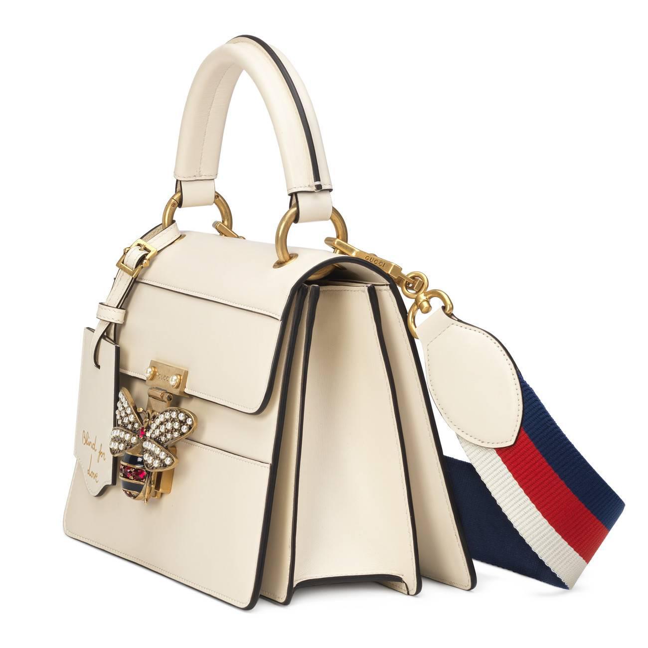5a4ed4b2a Gucci - Multicolor Queen Margaret Small Top Handle Bag - Lyst. View  fullscreen