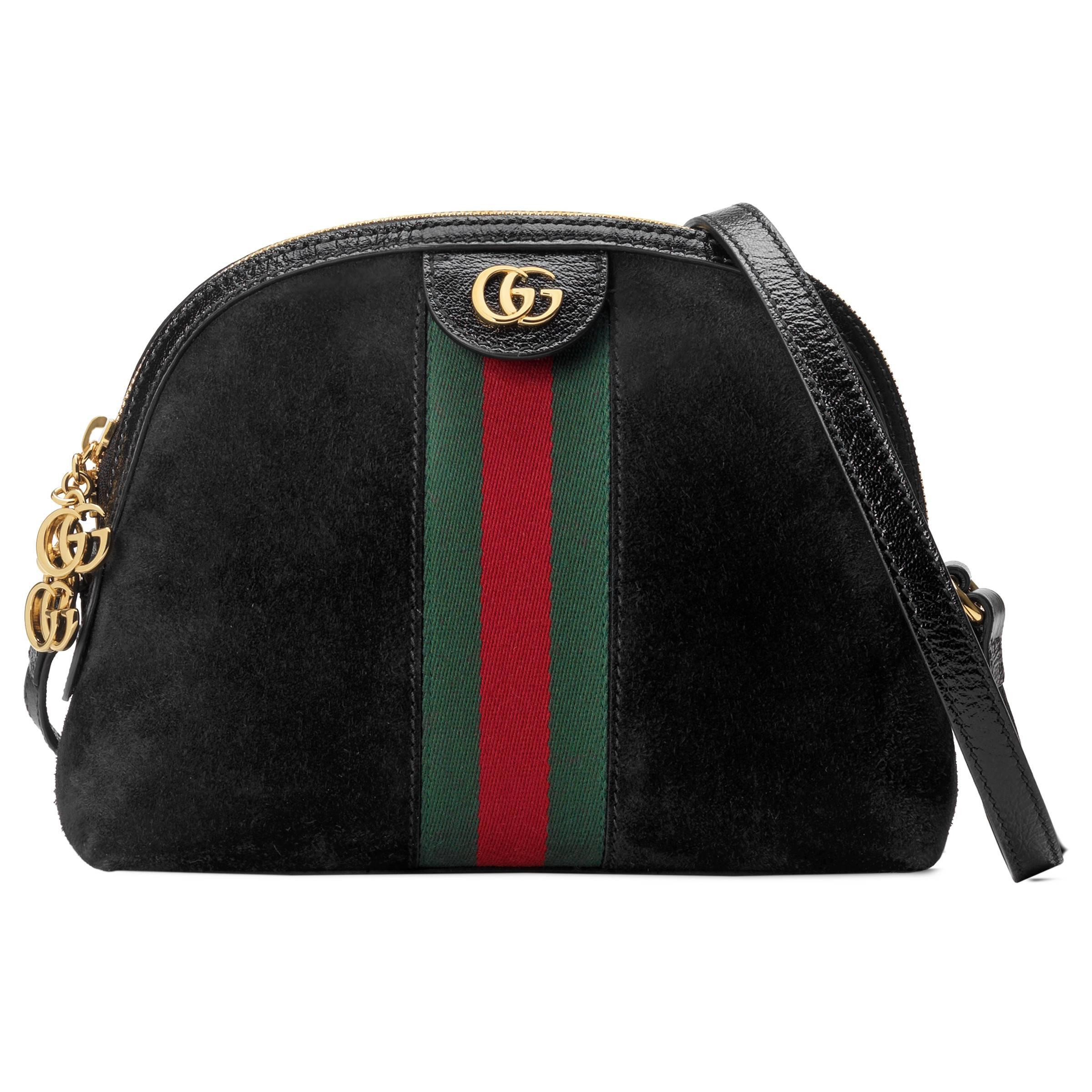 d7e7f32aebfa Gucci Ophidia Small Shoulder Bag in Black - Save 6% - Lyst