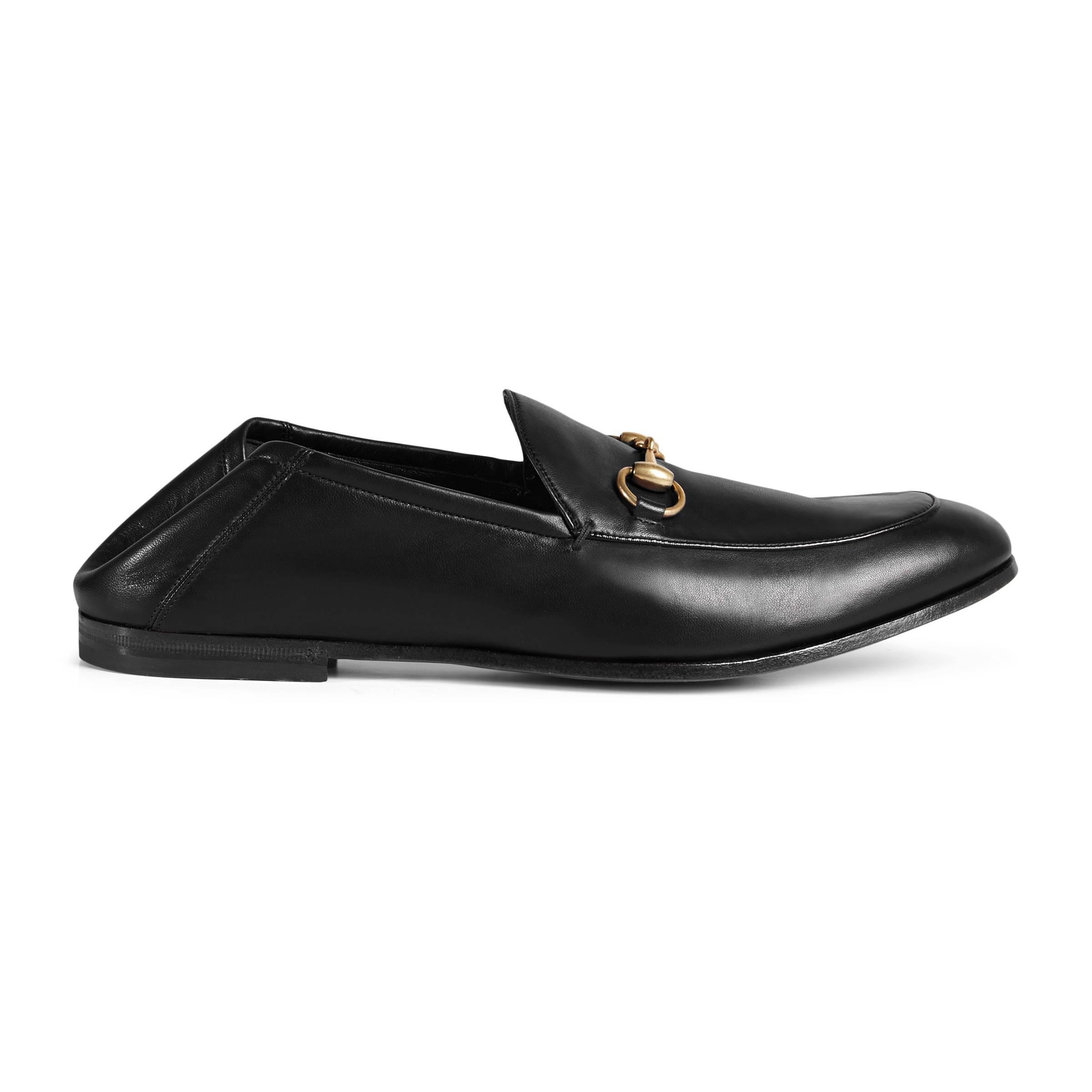 65276b6dcdb Gucci Horsebit Leather Loafer in Black for Men - Lyst