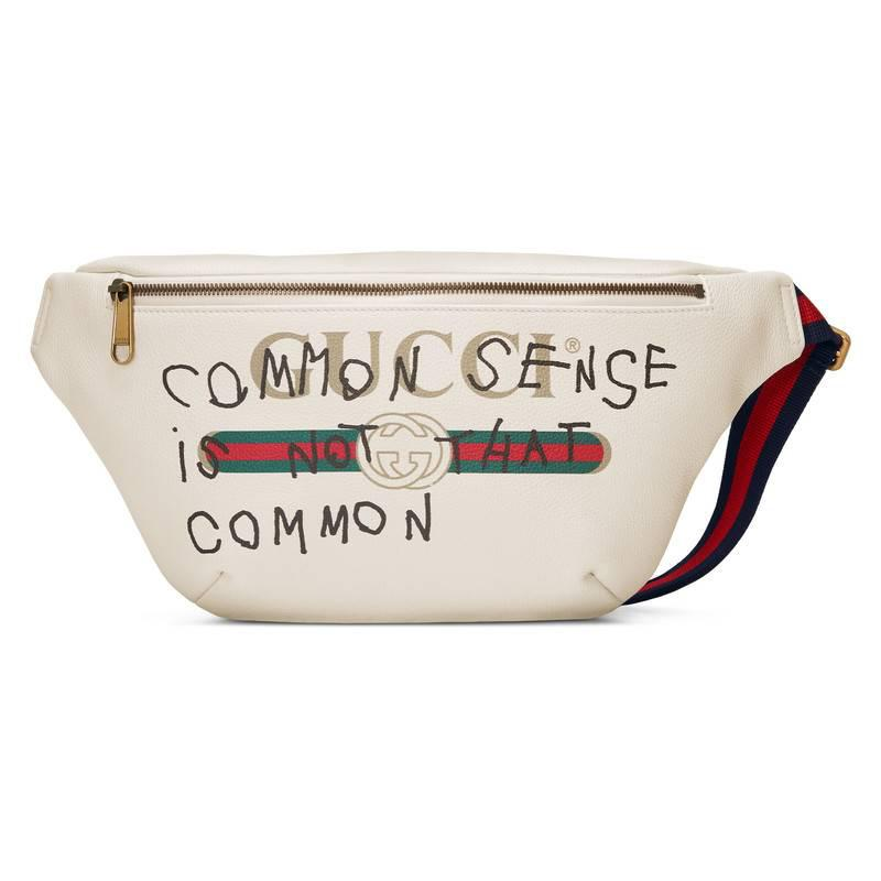 b7bee32d4e9 Gucci Coco Capitán Logo Belt Bag in White - Lyst