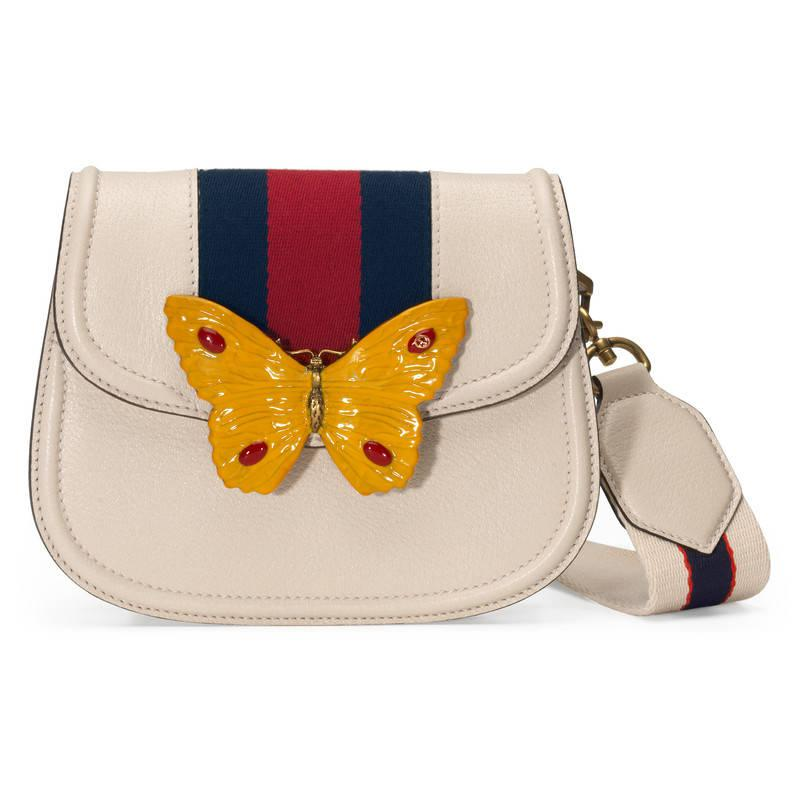 Totem grained-leather bag Gucci RpIBi8Uk4E