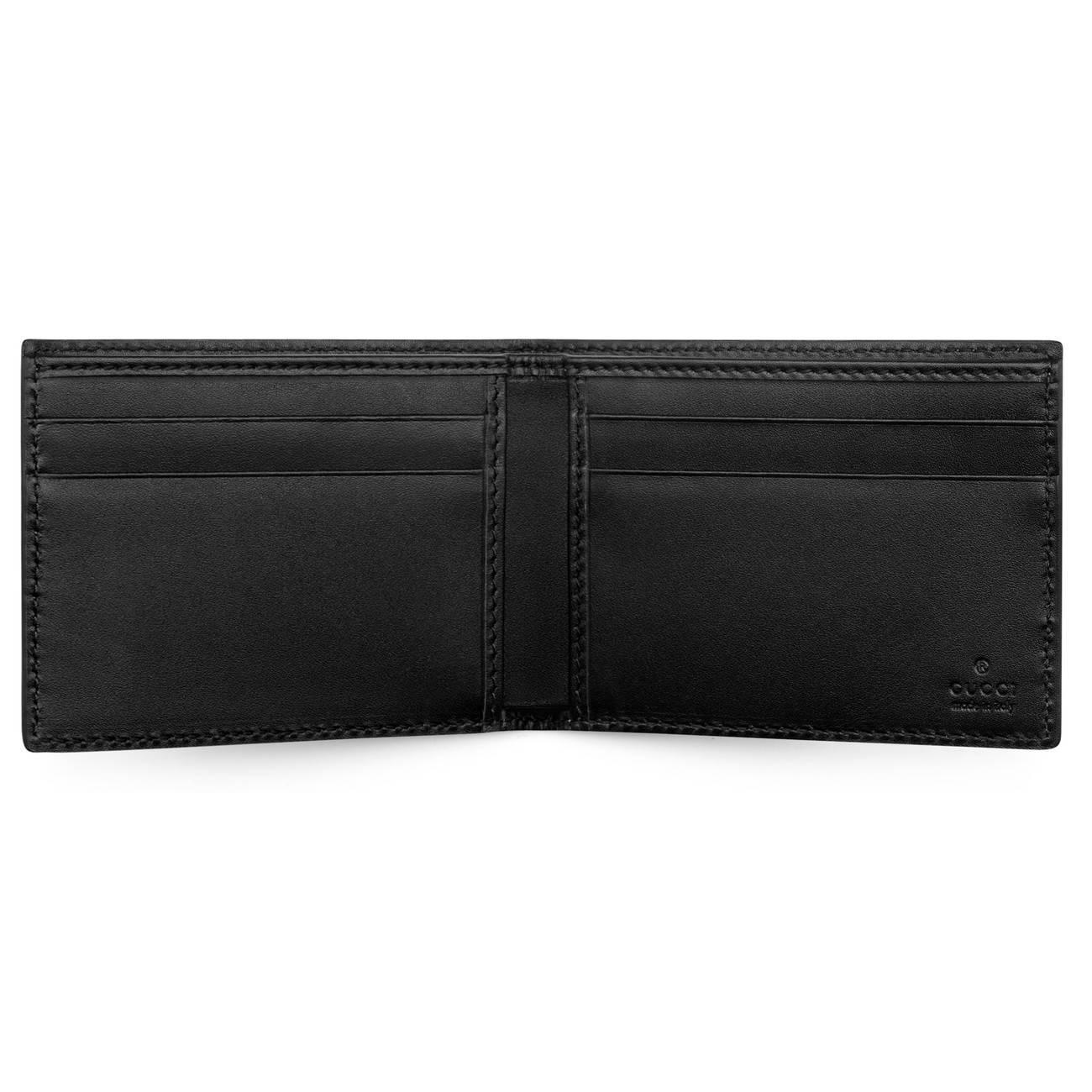 03f3e0cbb57f Gucci - Multicolor Kingsnake Print GG Supreme Wallet for Men - Lyst. View  fullscreen