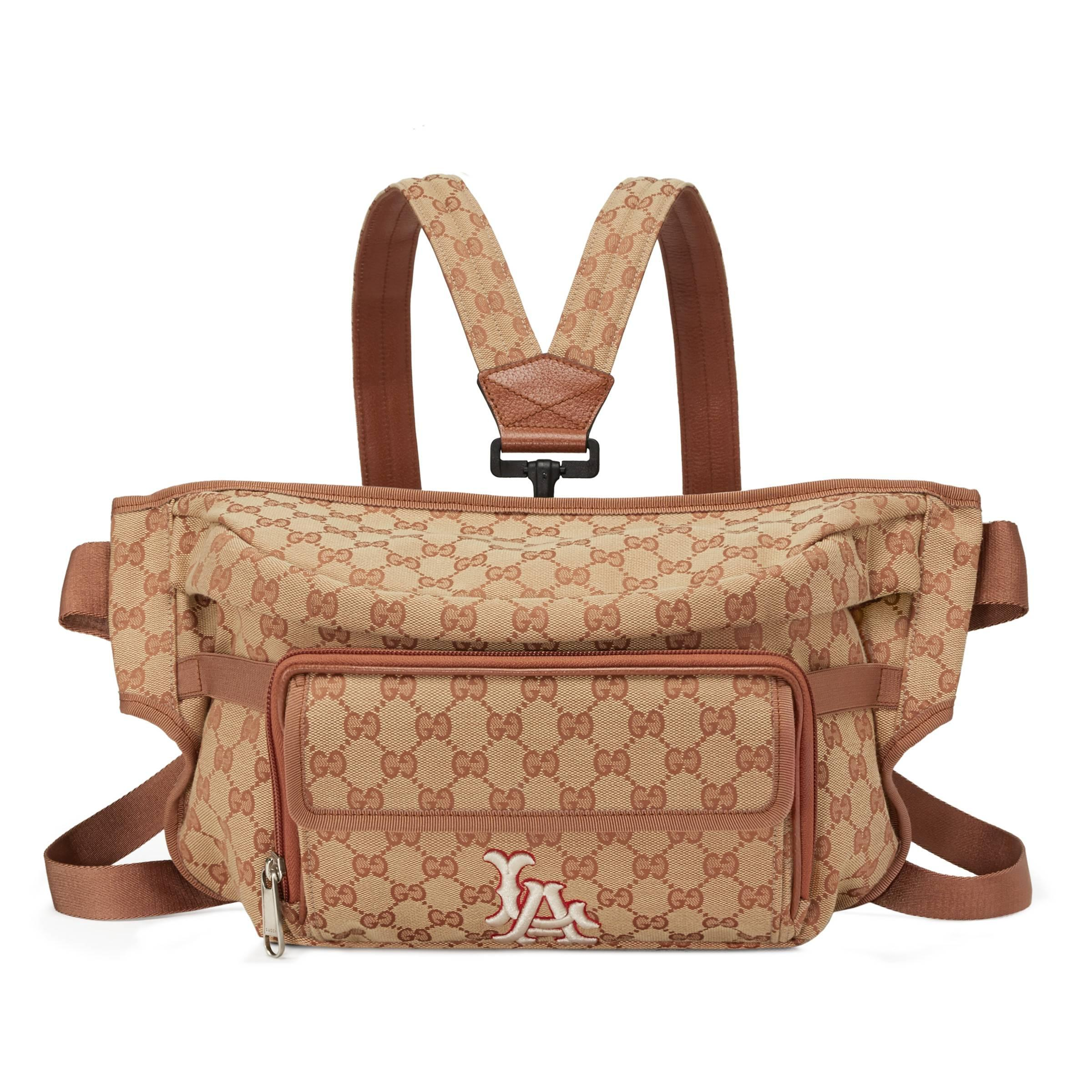330e1fbab0e9c Lyst - Bolsa con Cinturón con Parche LA AngelsTM Gucci de hombre de ...