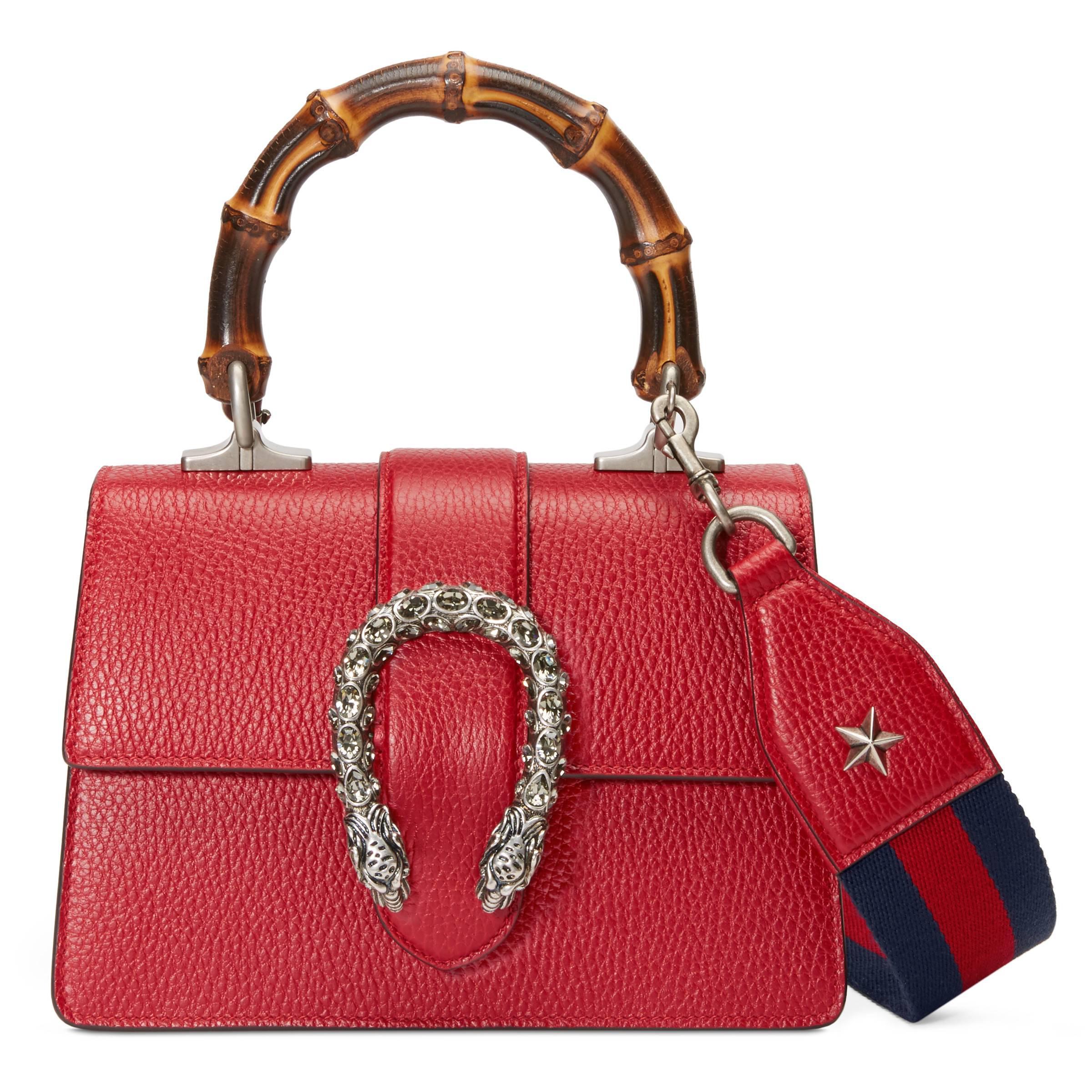 cacde82c5e1 Gucci Mini Sac À Main Dionysus in Red - Lyst