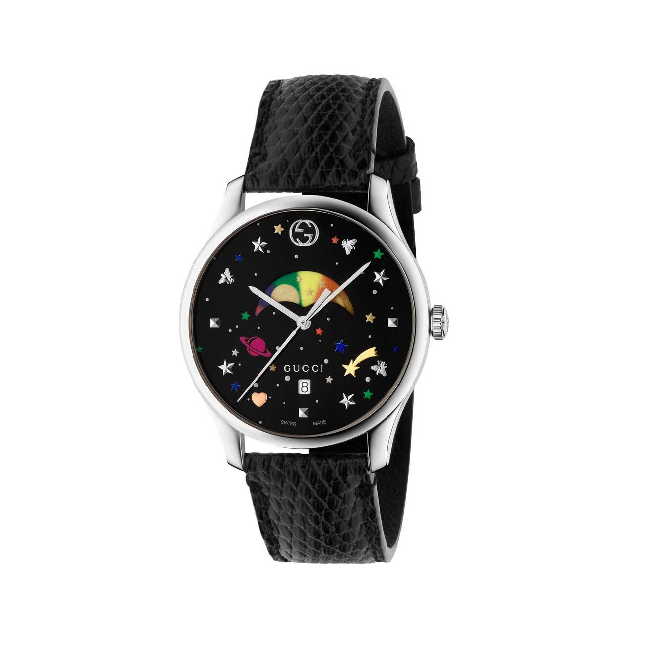 ab96b90cca3 Gucci. Women s Black G-timeless Moonphase ...