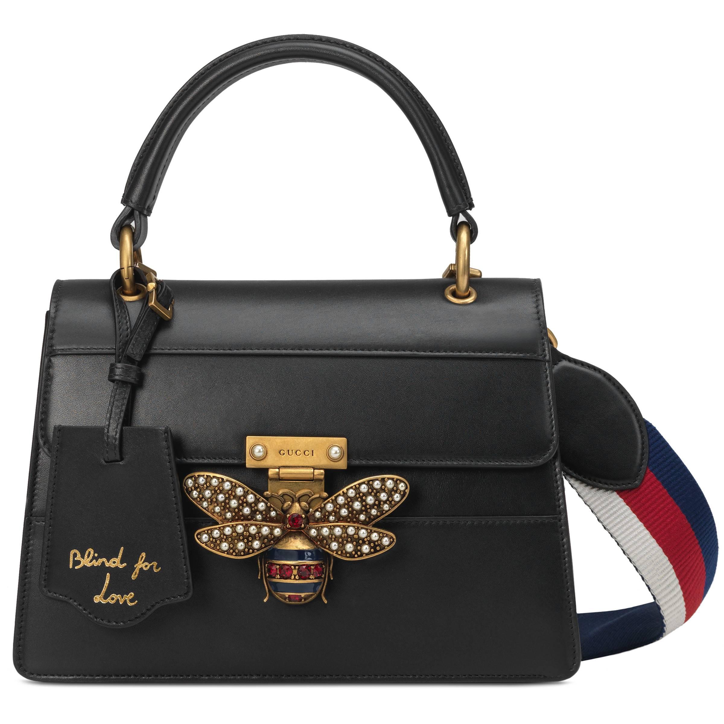 ba917503bfa Gucci Sac À Main Queen Margaret Petite Taille in Black - Lyst