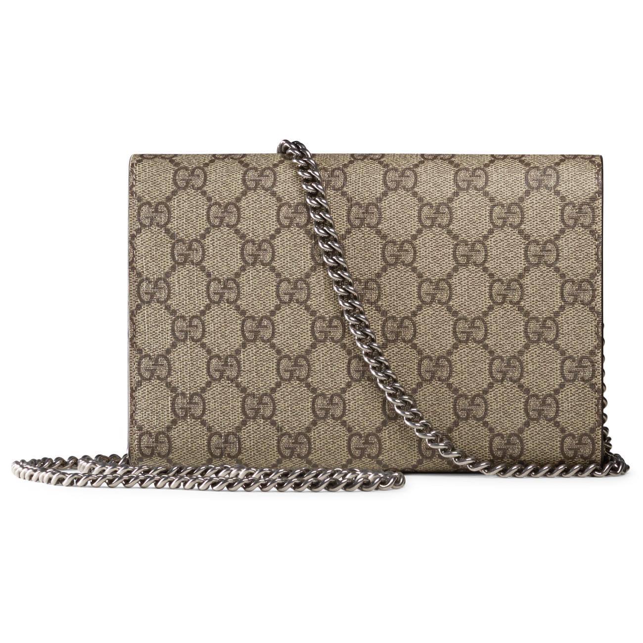 b692756c6c73 Gucci Dionysus GG Supreme Chain Shoulder Bag - Lyst