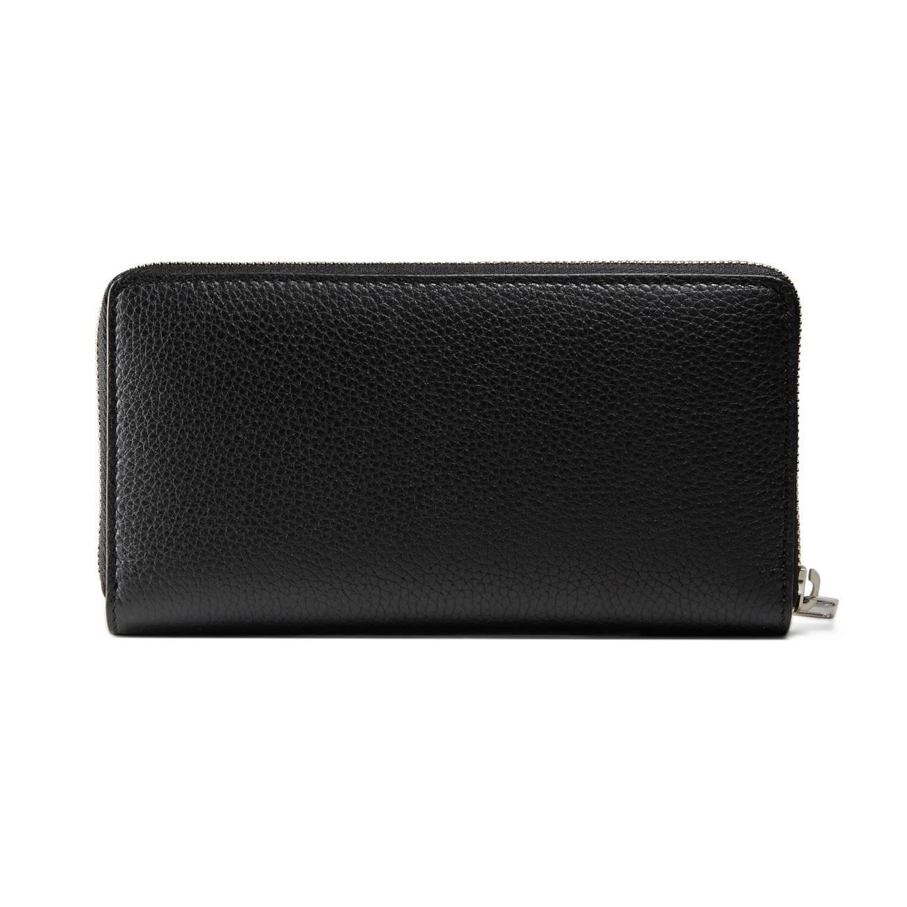 e8d391639b9 Gucci - Black Leather Zip Around Wallet for Men - Lyst. View fullscreen