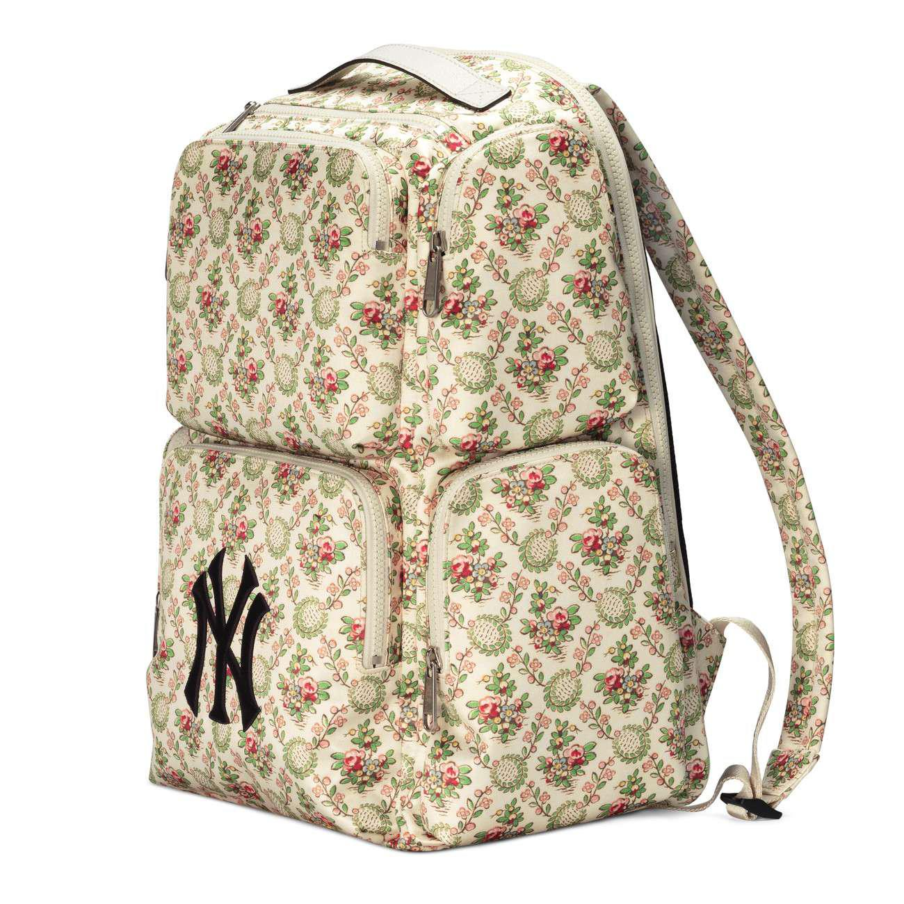 2b32f74de36d29 Lyst - Gucci Large Backpack With Ny Yankeestm Patch for Men