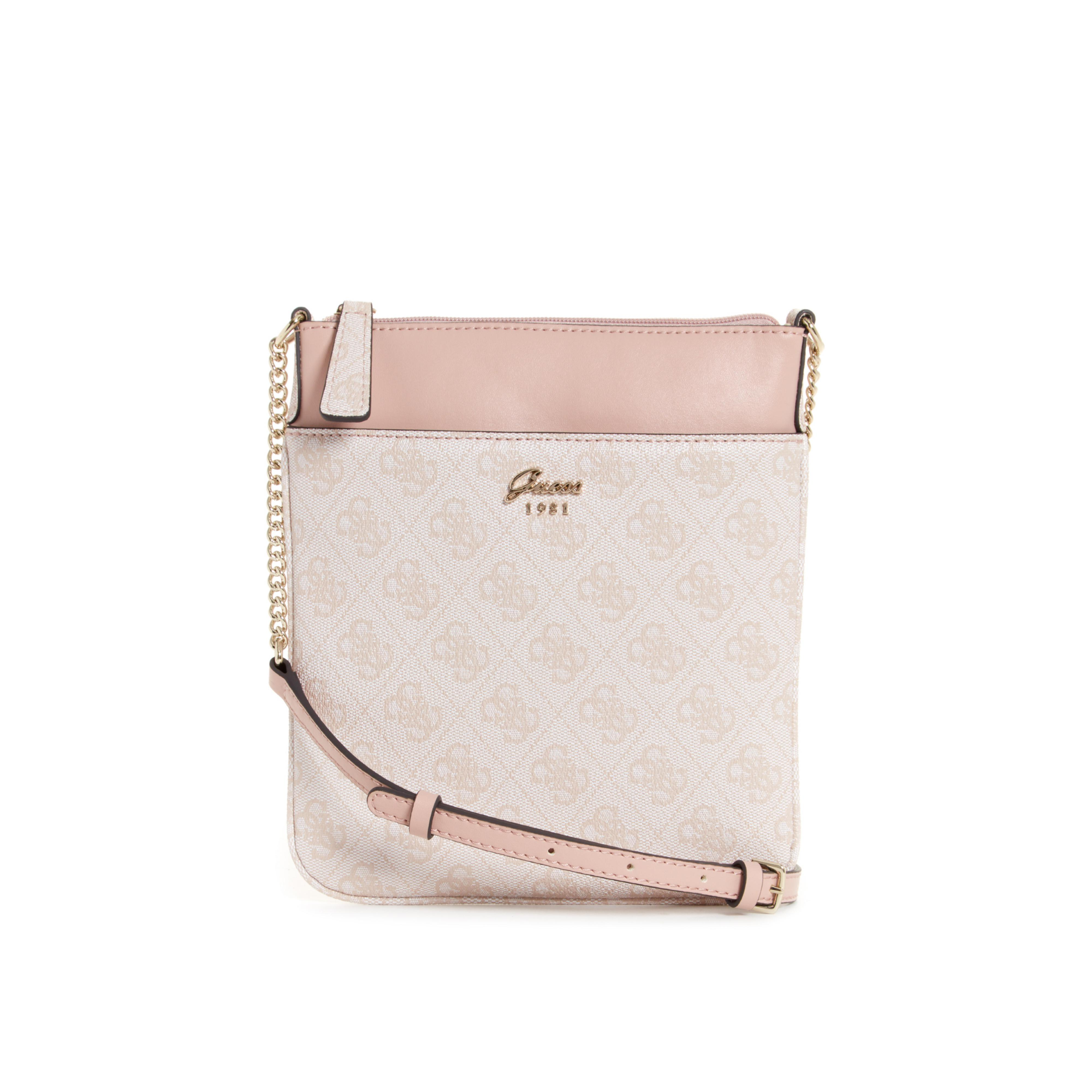 Guess Jacqui Mini Tourist Crossbody in Pink - Lyst 869bc43ed5