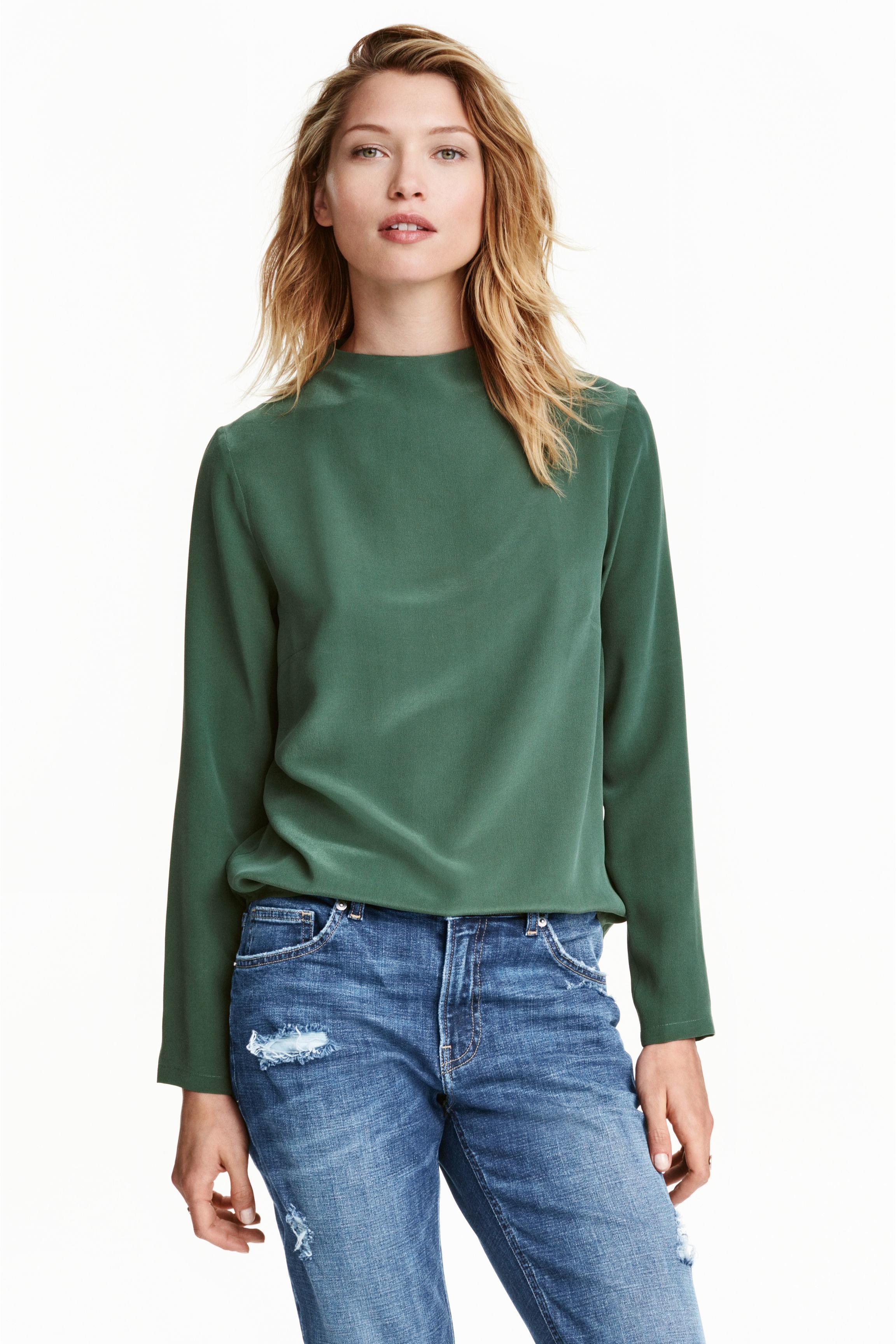 Green Blouse H&M 120