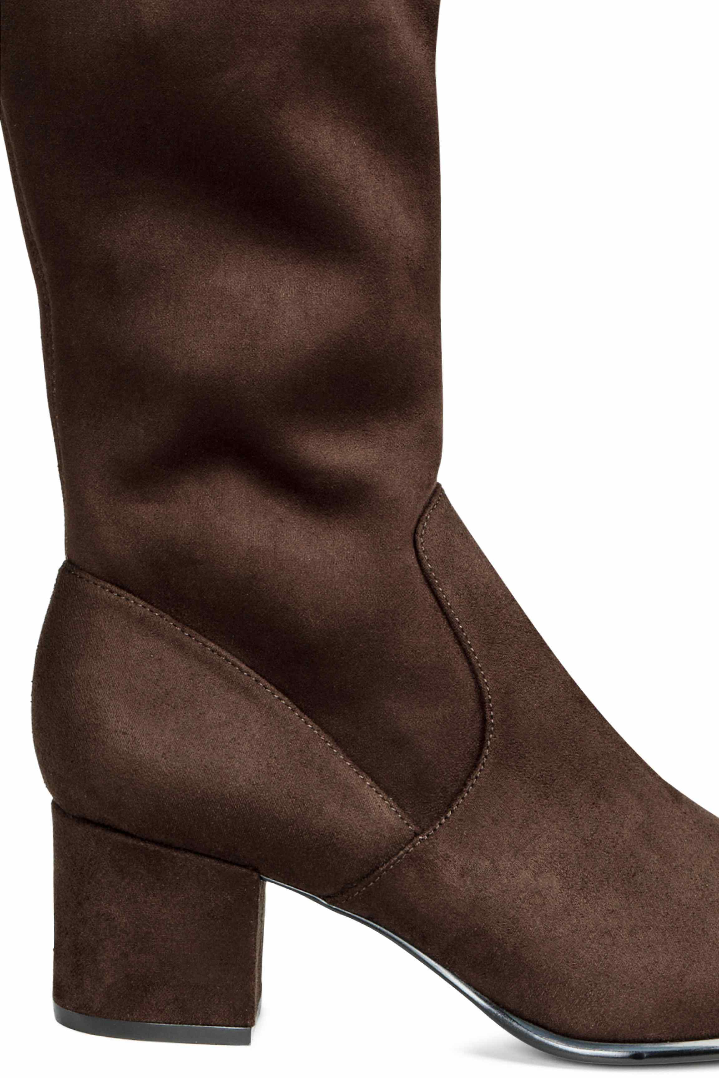 a5214e3a3b264 H&M Long Boots in Brown - Lyst
