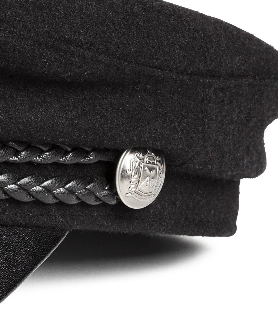 Lyst - H M Captain s Cap in Black 1c33e96e0a7