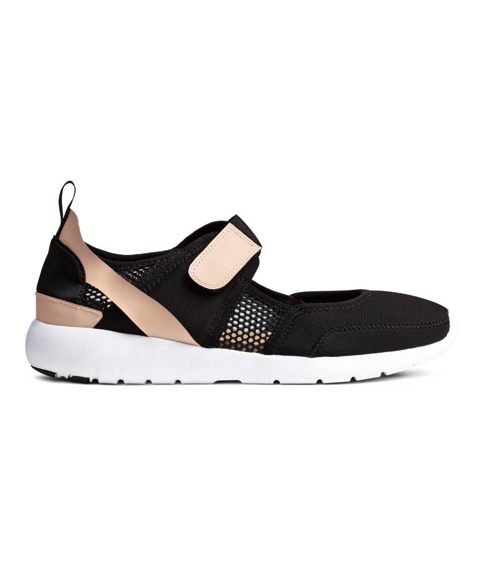 h m trainer sandals in black lyst